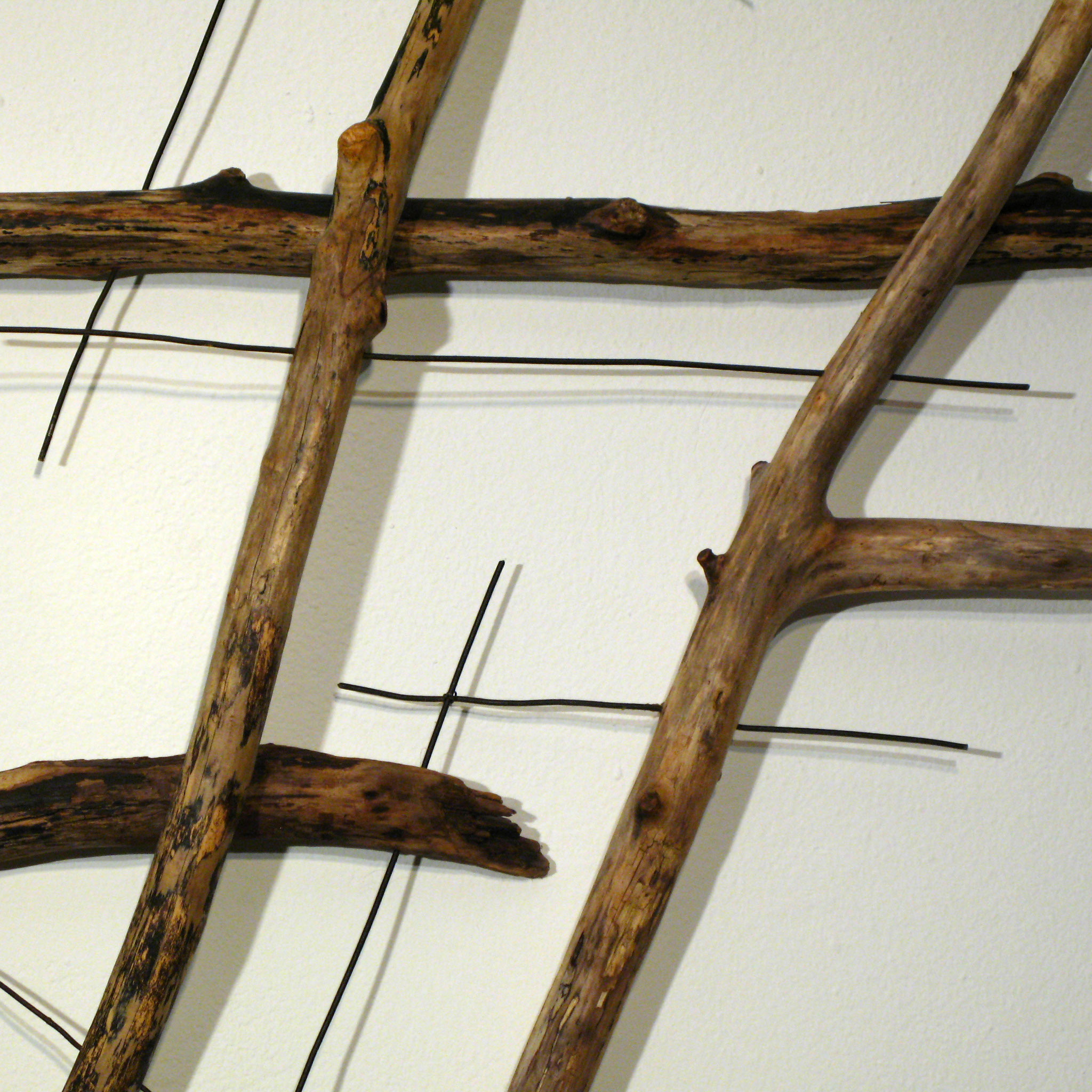 Fragment Nr. 4 dynamisch (Detail), Kraftobjekte Wolfgang Wallner Hall in Tirol
