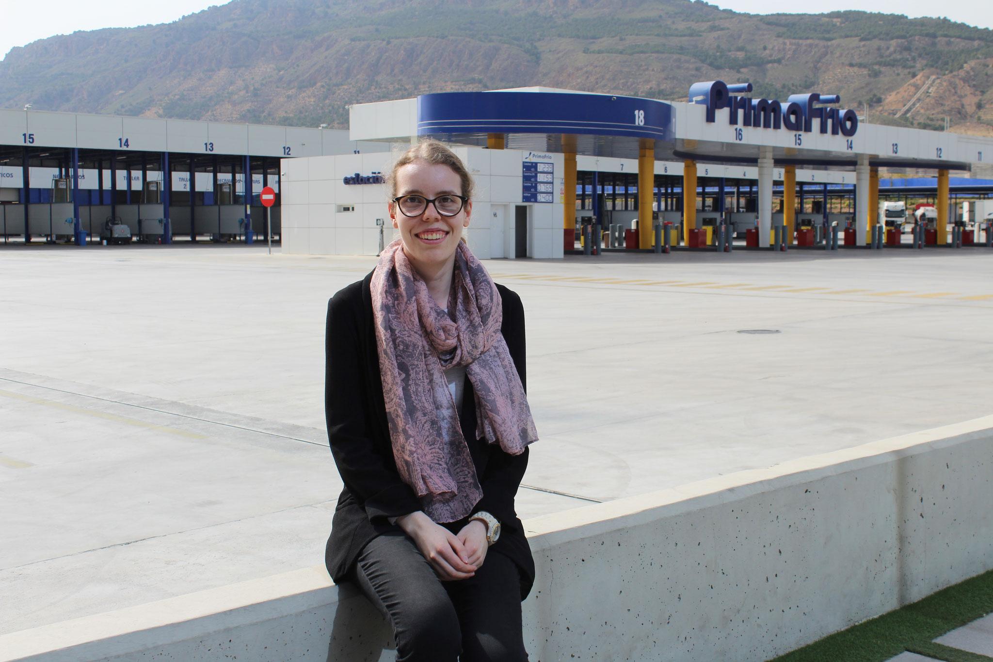 Natascha Lenk en Primafrío en Murcia