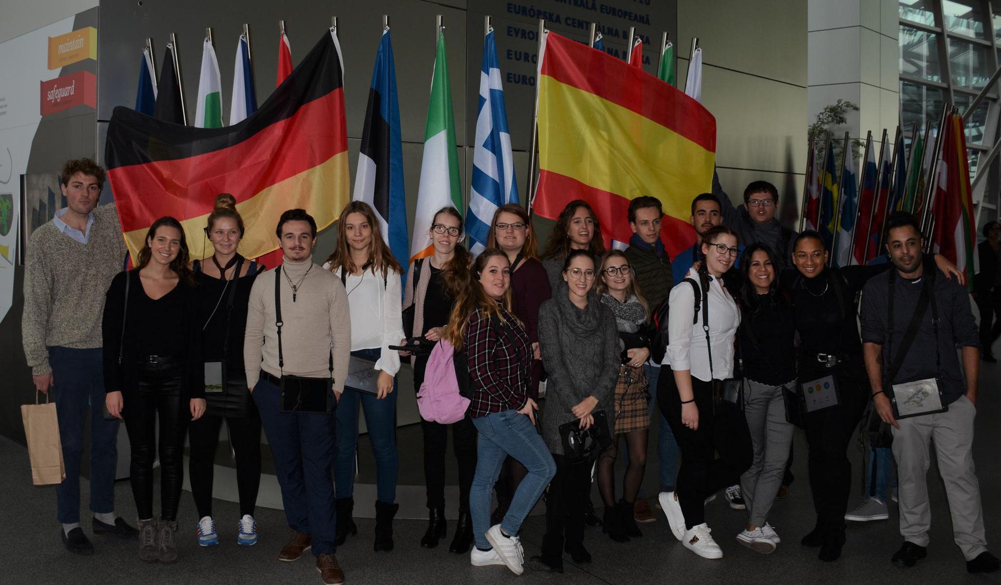 Visita al Banco Central Europeo