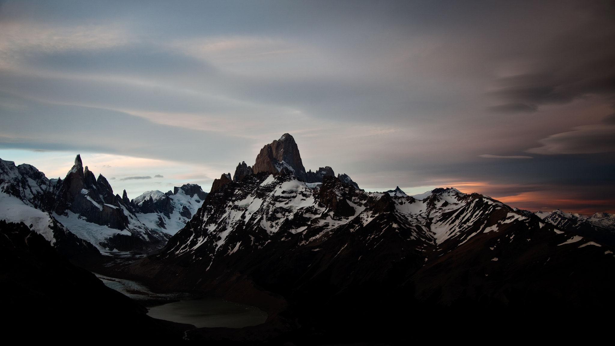 Cerro Torre und Fitz Roy, Patagonien © Hannes Mair