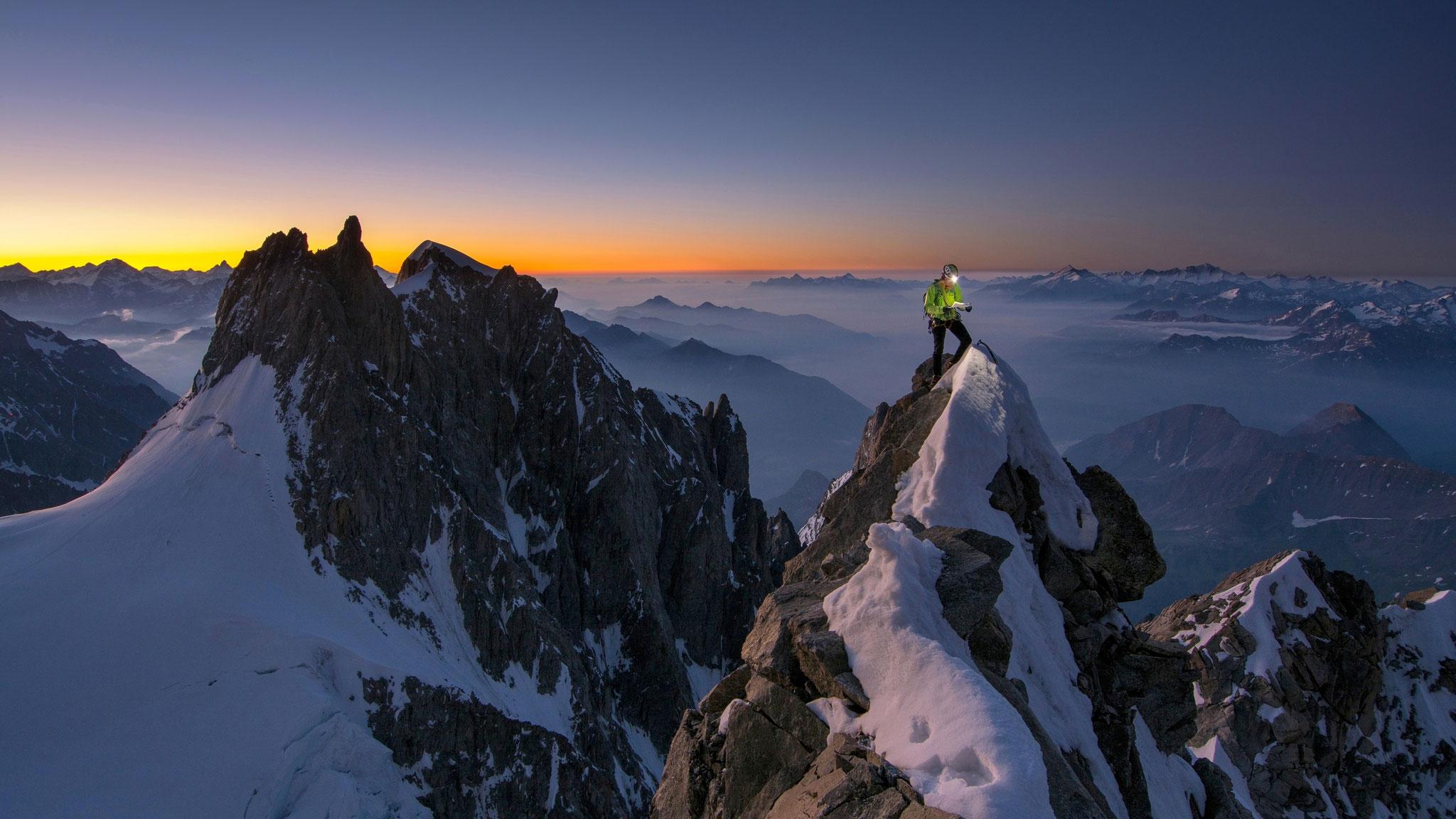 Innominatagrat, Mont Blanc © R. Gantzhorn