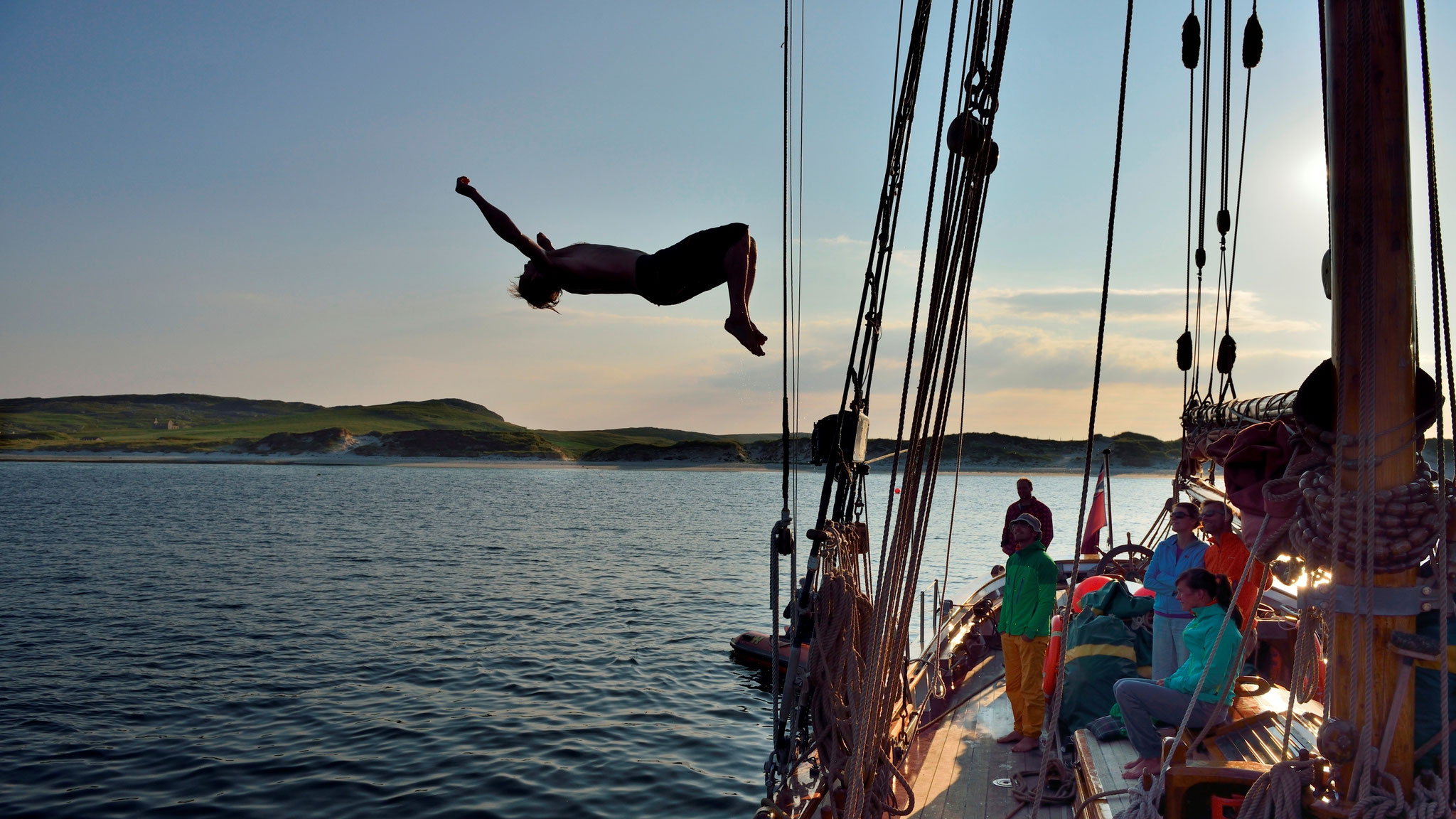 Climb and Sail Scotland © Ralf Gantzhorn