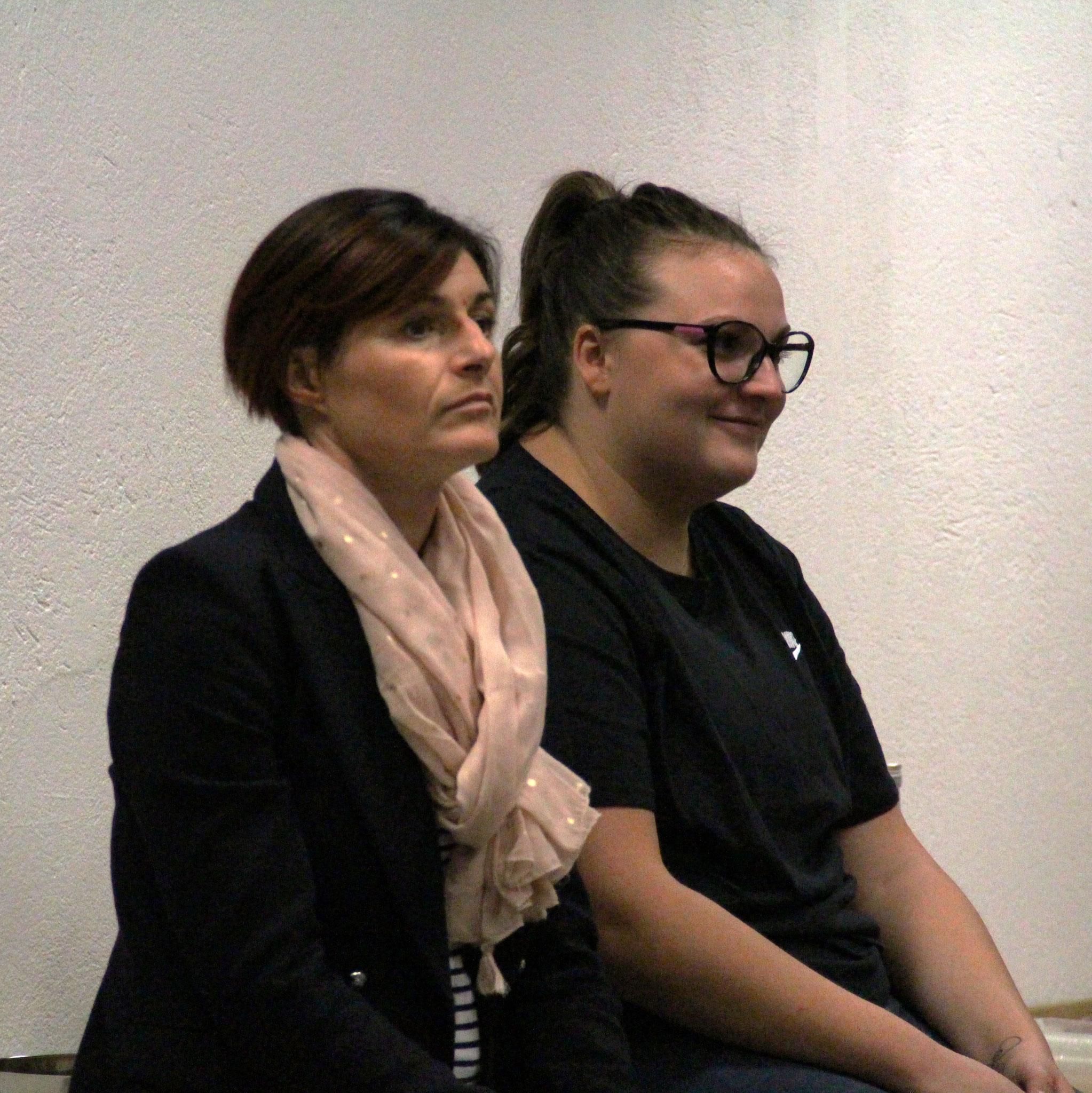 Carole A. et Manon V.