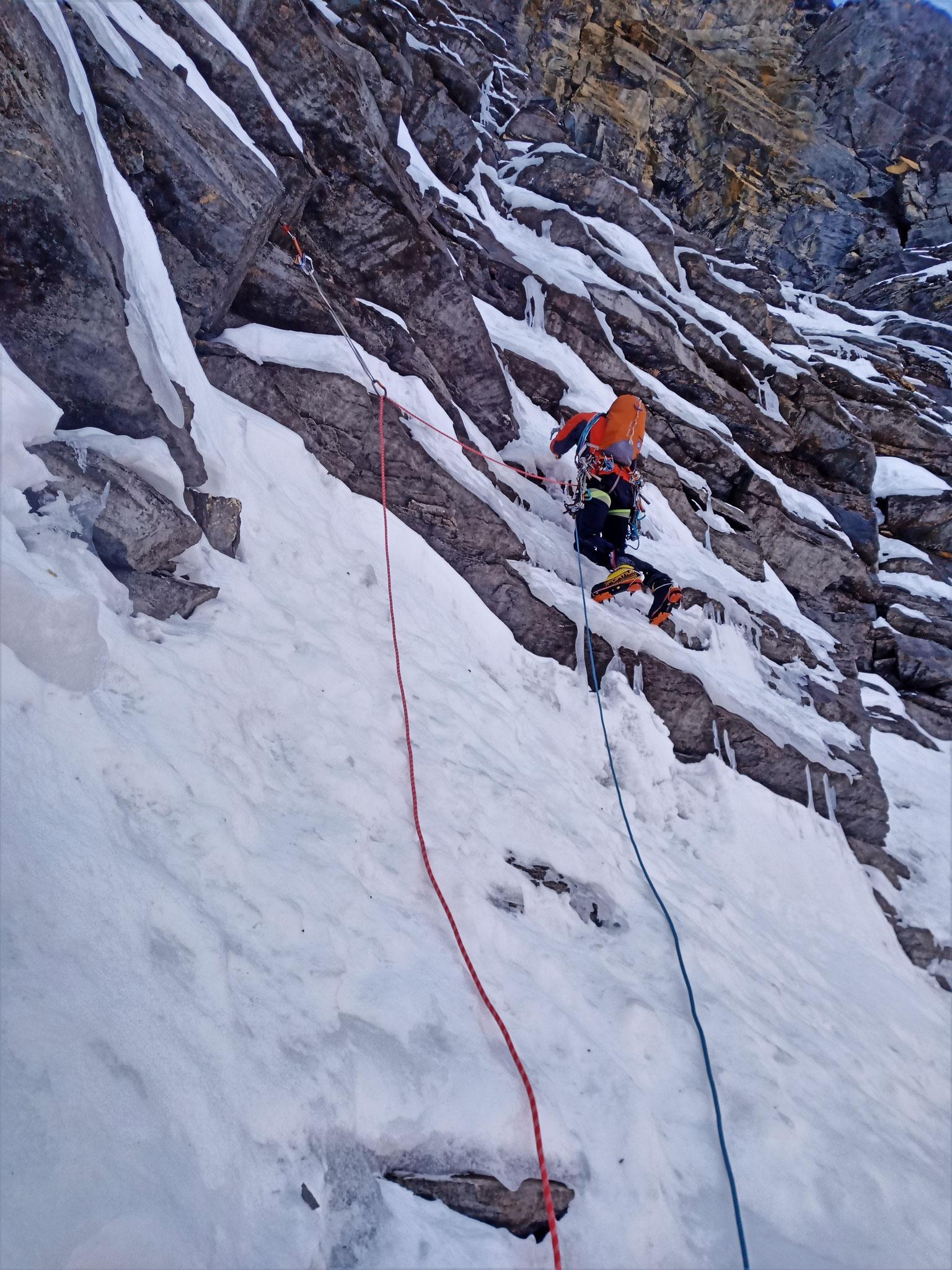 L1, idéale pour commencer en douceur!  -  Cascade guide Maurienne