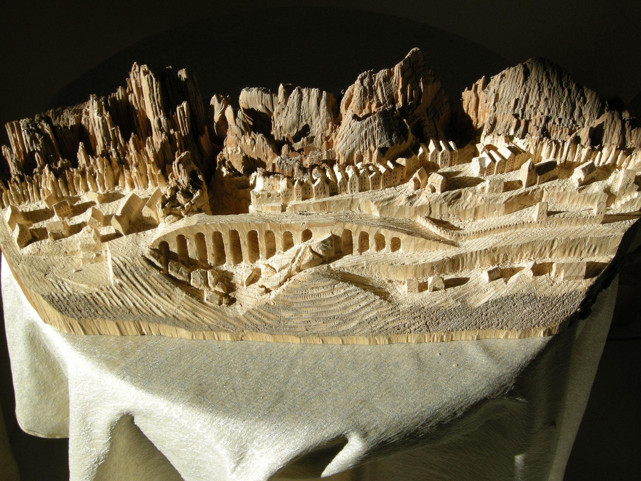 Holzschnitzkunst von Kevin Widmer