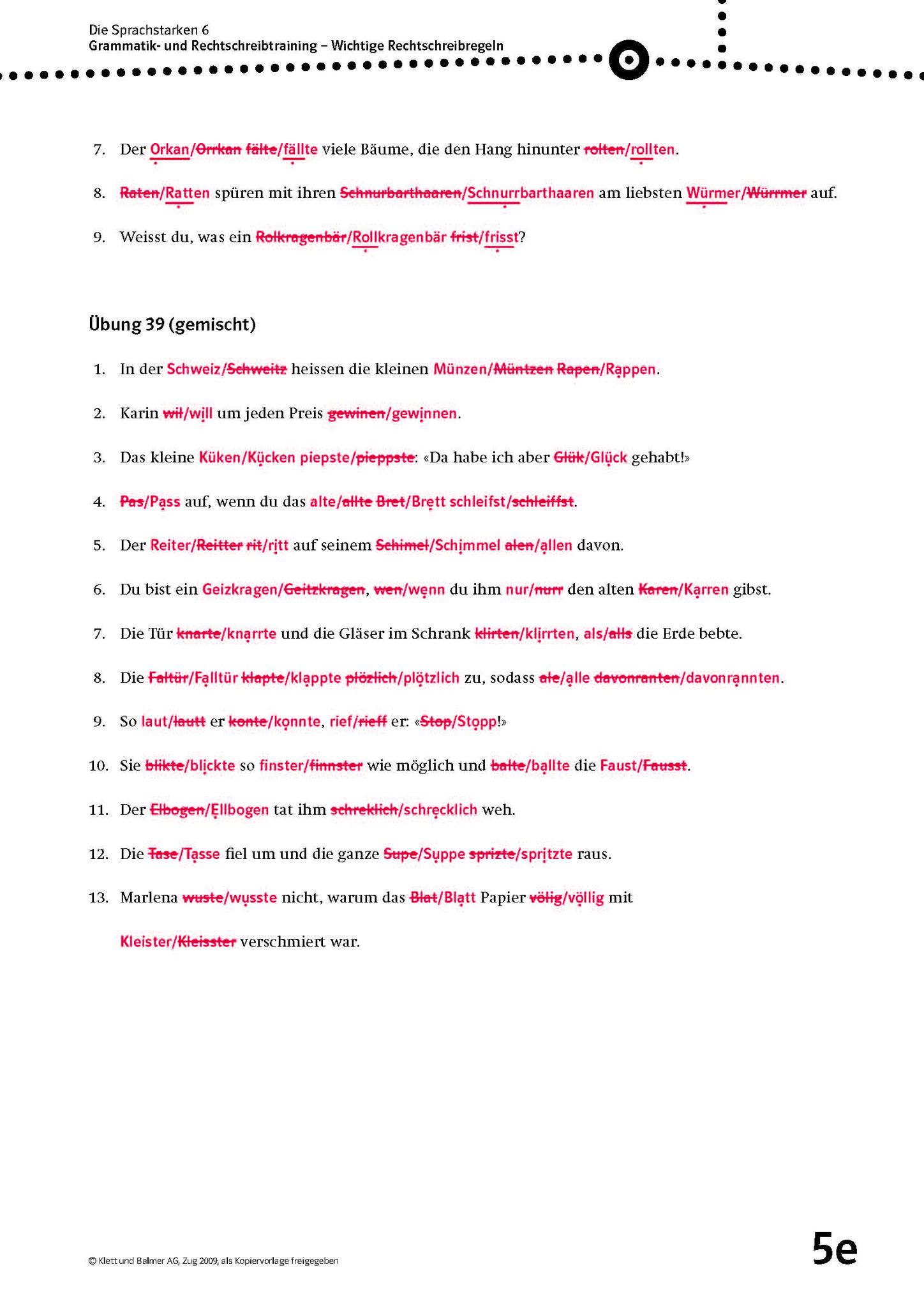 Arbeitsblätter Direkte Und Indirekte Rede Lösungen