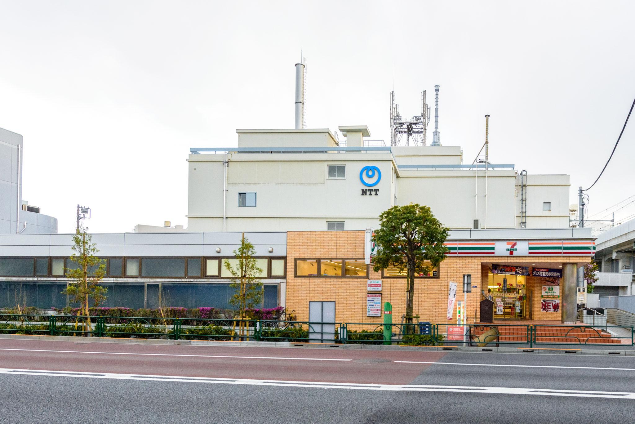 セブンイレブン京成曳舟駅前店(400m)