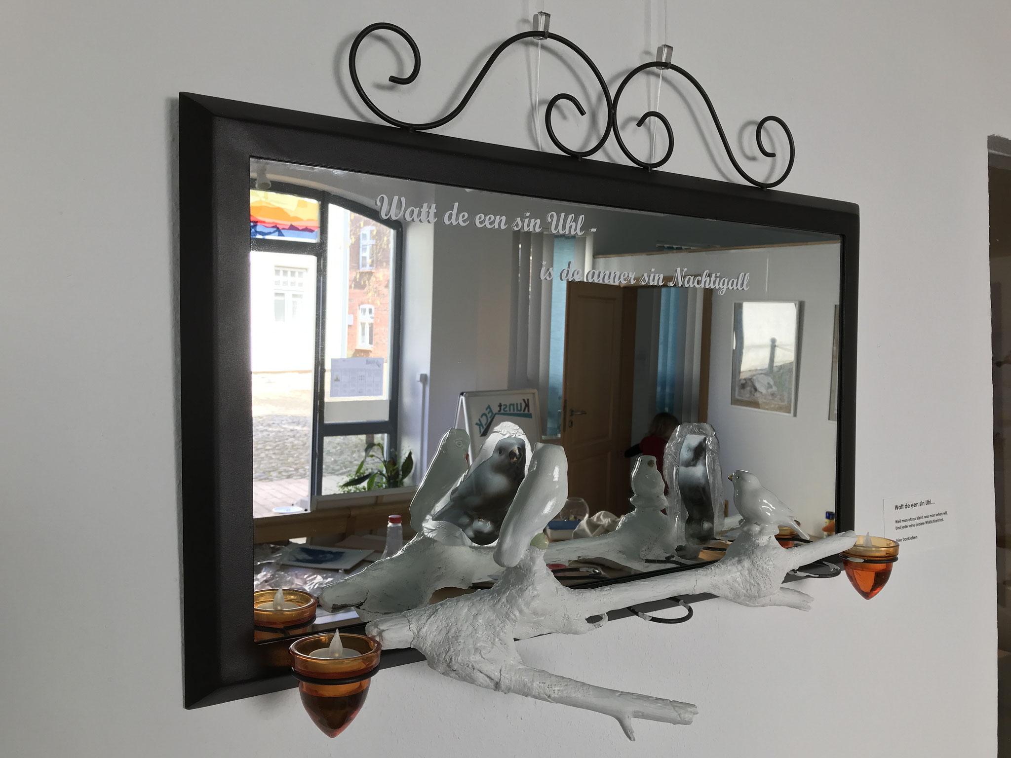 Inke Danklefsen - Installation (Foto: Heike Warming)