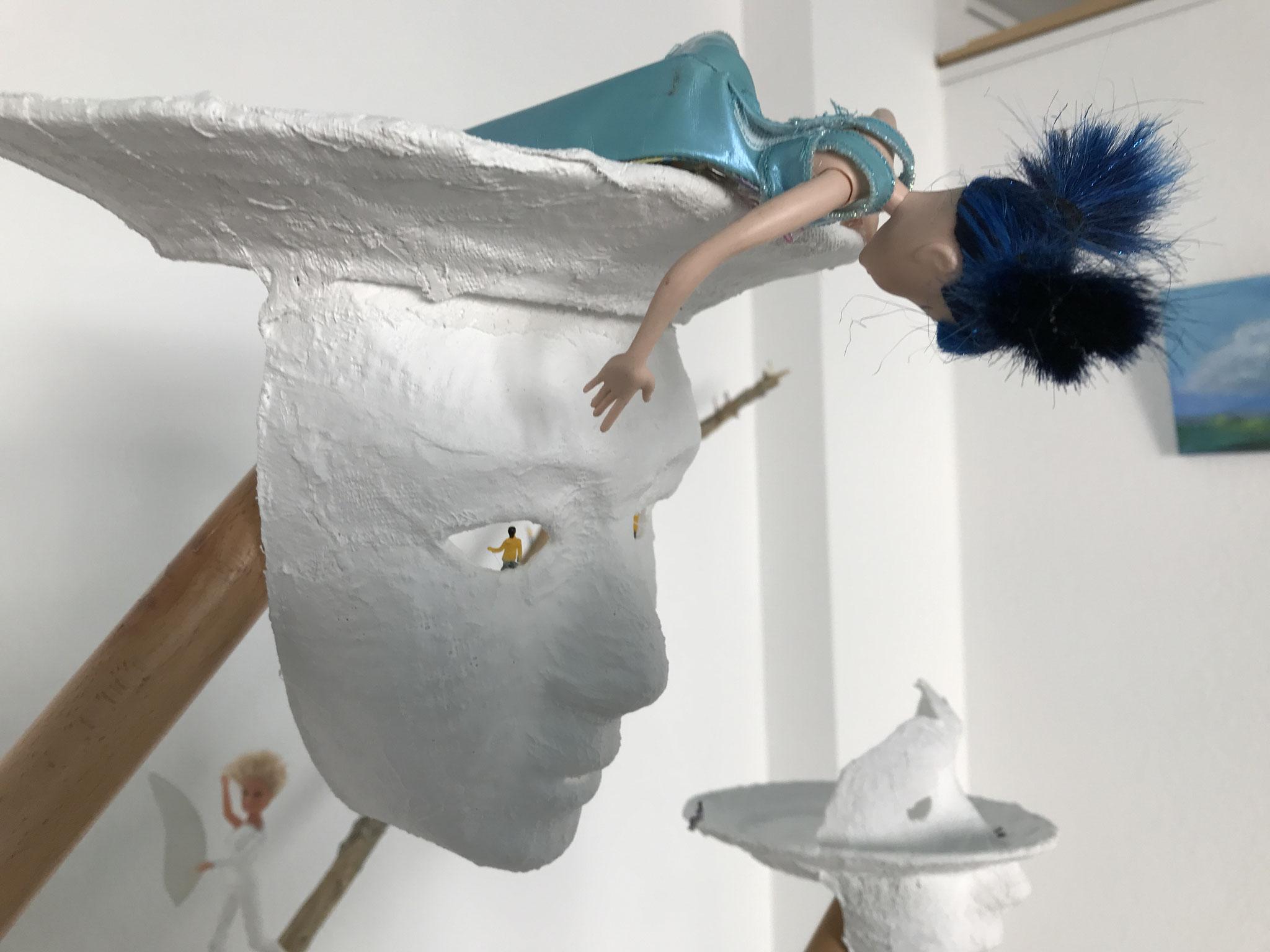 Elke Grünberg - Installation (Detail) (Foto: Heike Warming)