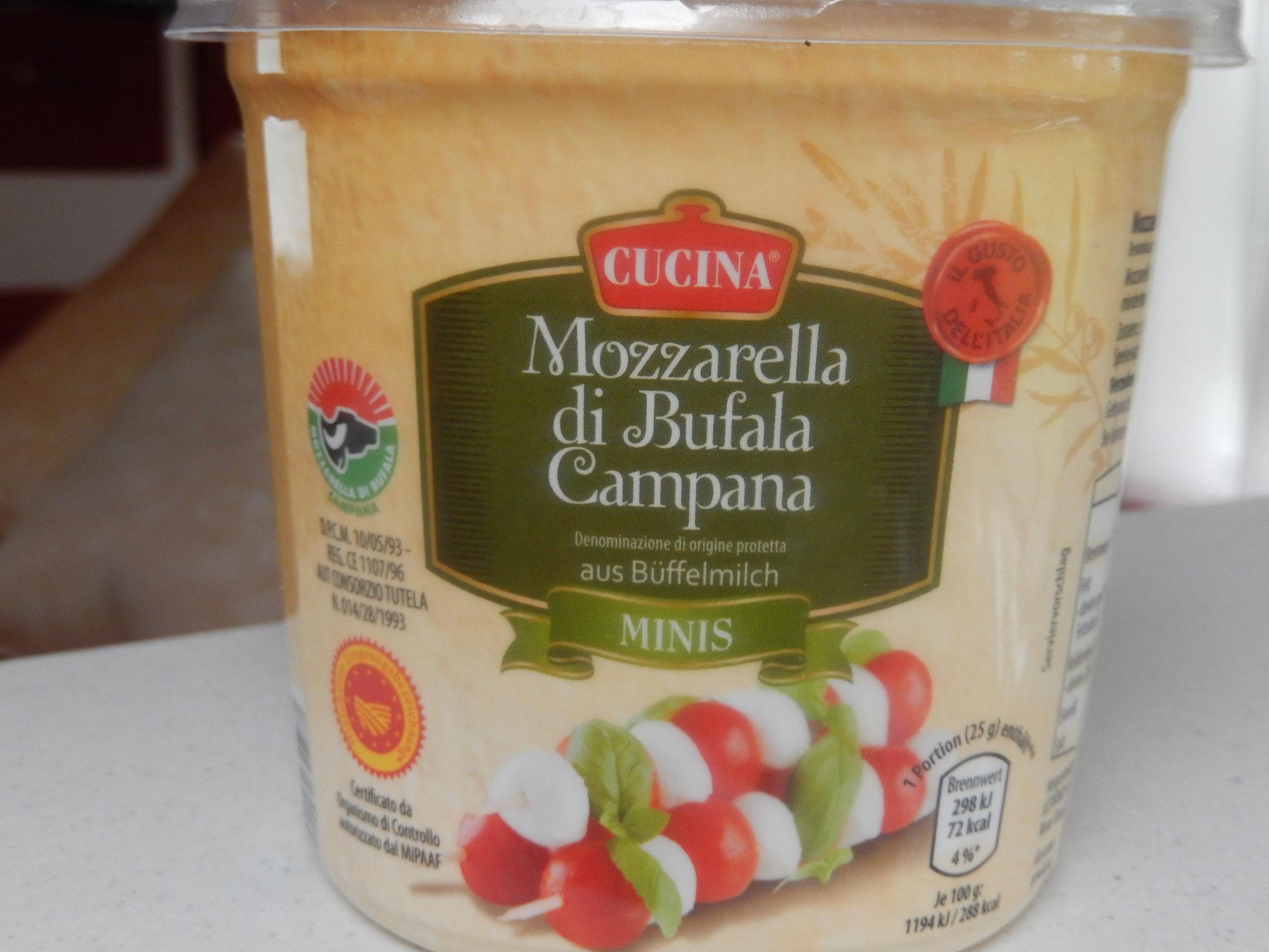 Mozzarella vom Büffel