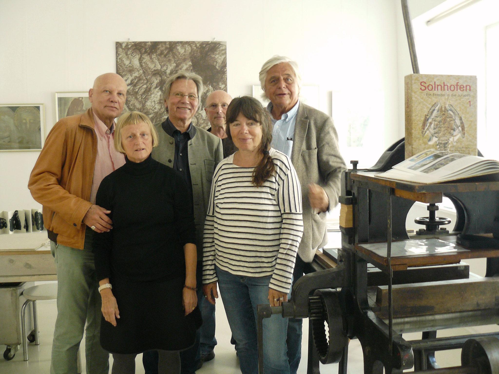 In der Lithographie-Werkstatt Eichstätt