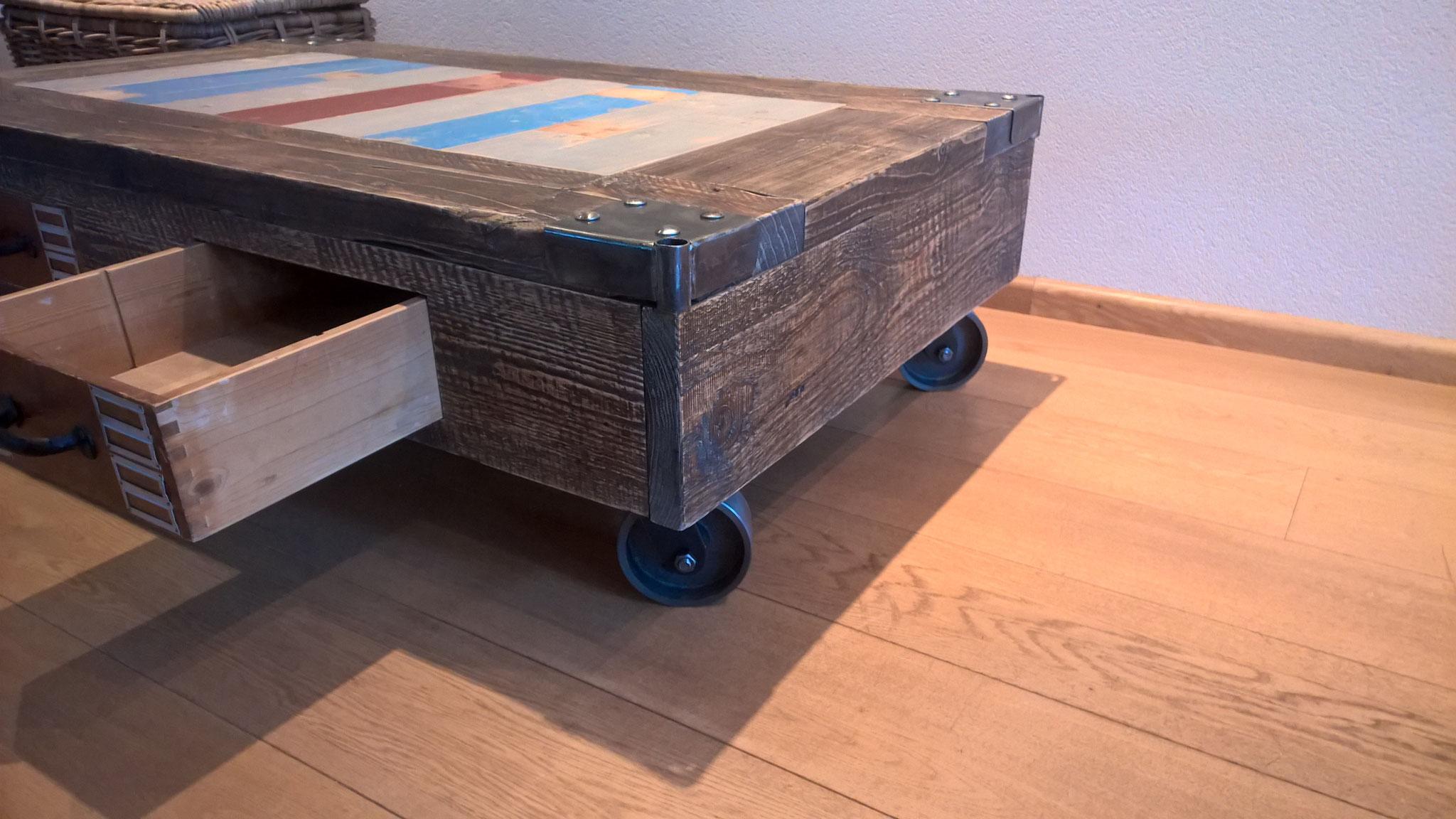 Salontafel industrieel lades: salontafels ruim 200 tafels eijerkamp