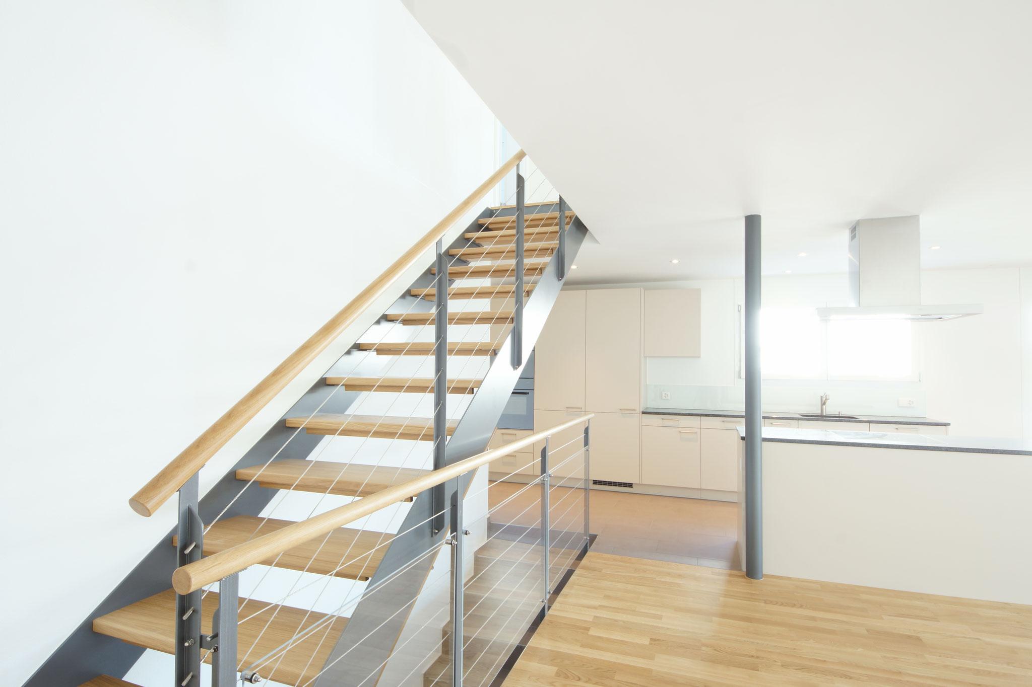 Treppenaufgang EG-OG Haus 50b