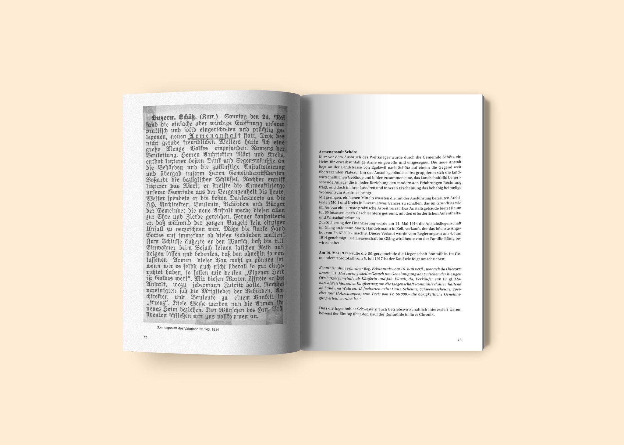 Buchgestaltung - Irma Steinmann Grafik Freelance