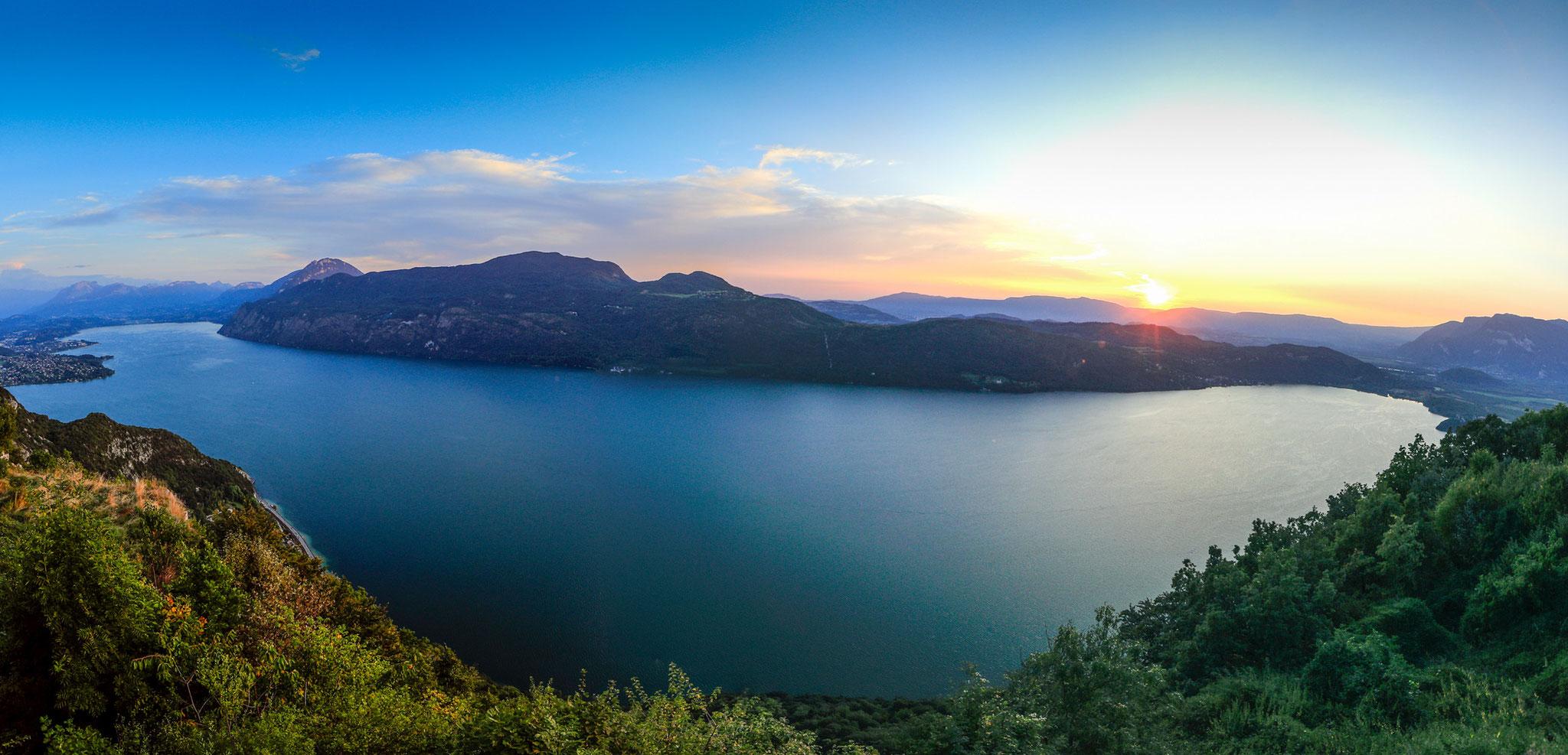 Lac du Bourget vue de la Chambotte