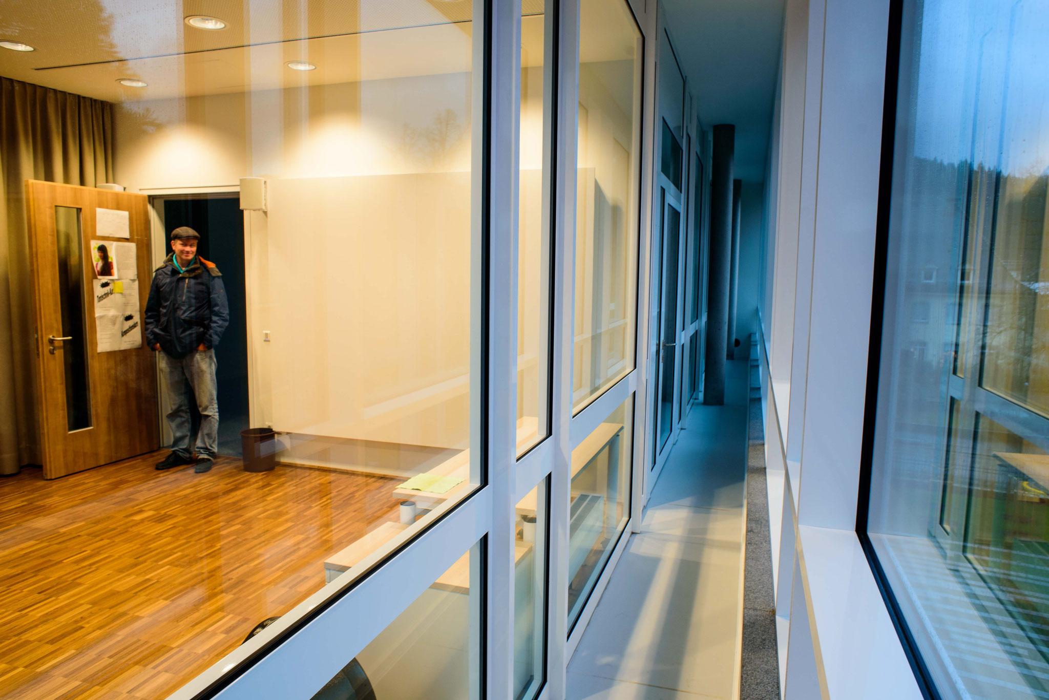 Doppelte Fenster zur akustischen Entkoppelung unseres Stockwerks