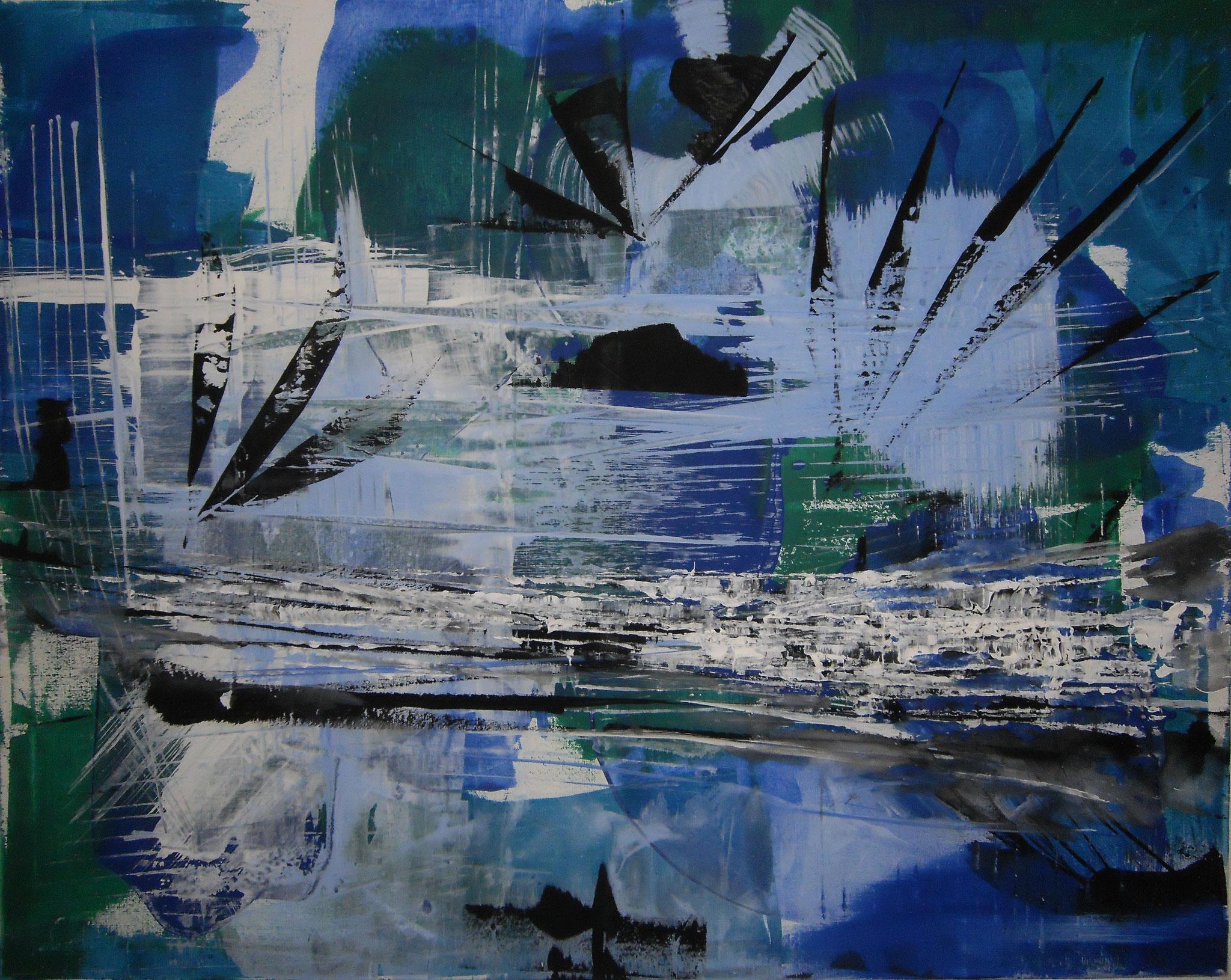 Azzurro 80 x 100 x2 cm