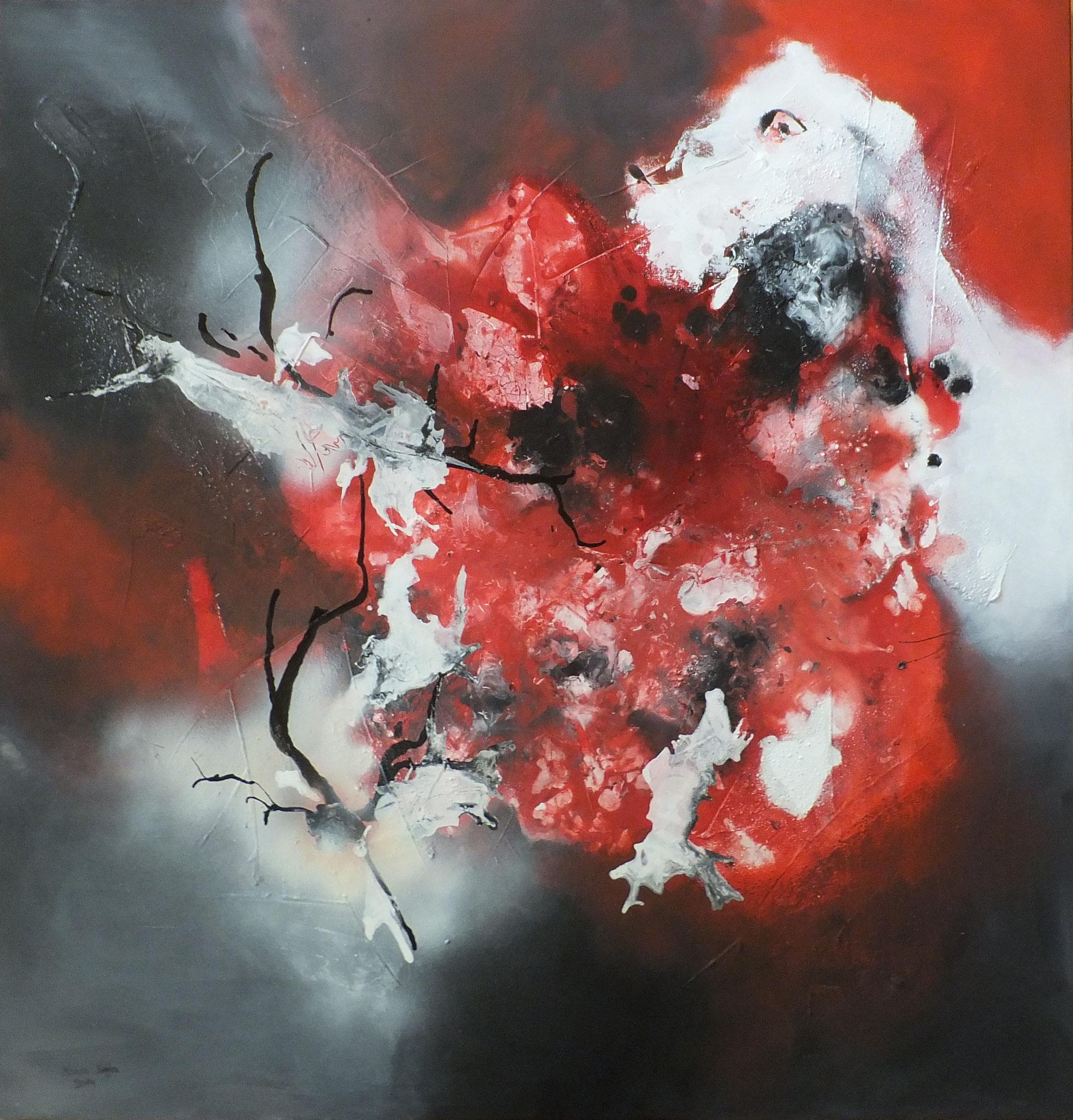 Passione VII 100 x 100 x 2 cm