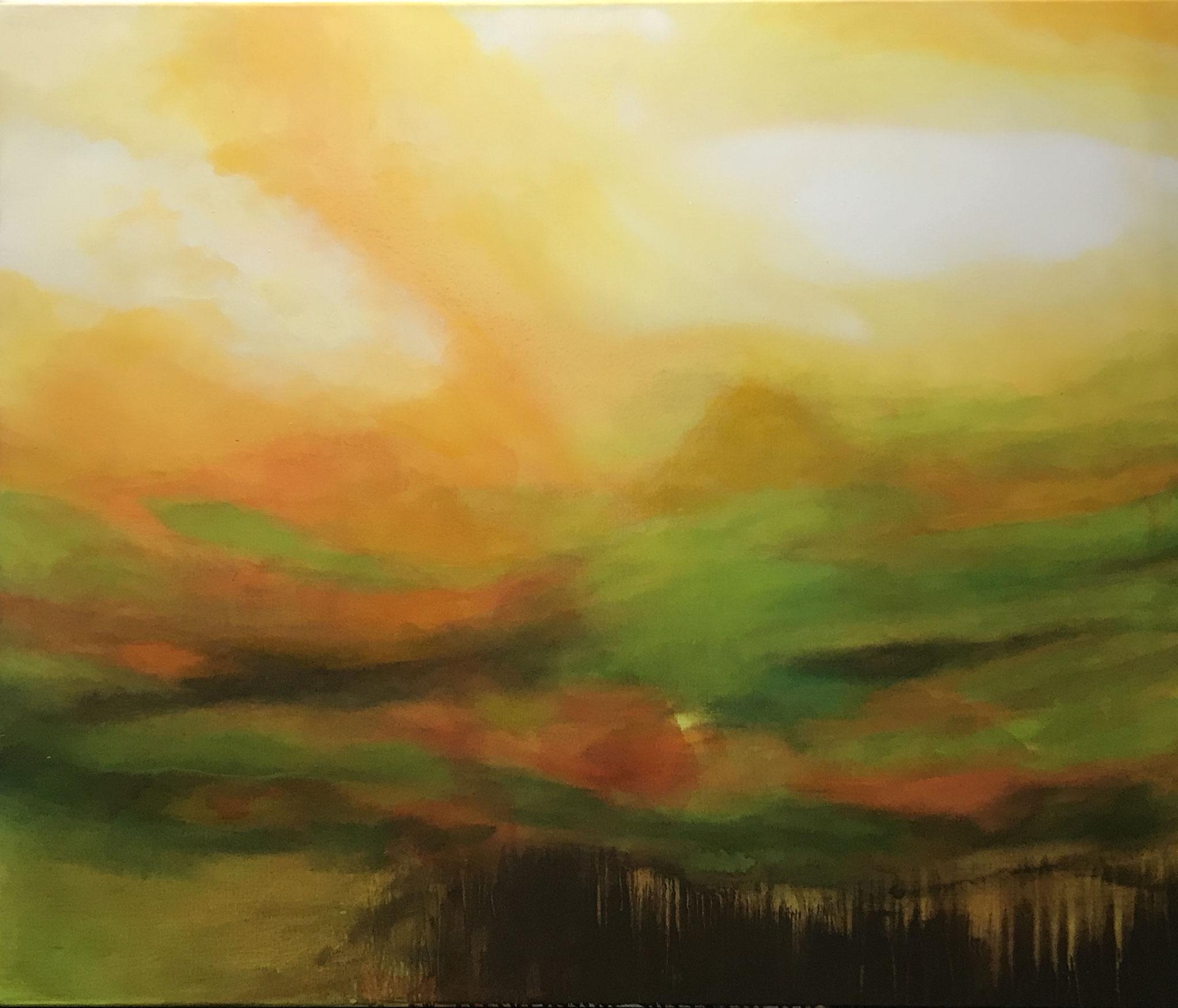 Il mio paesaggio II 100 x 120 x 2 cm