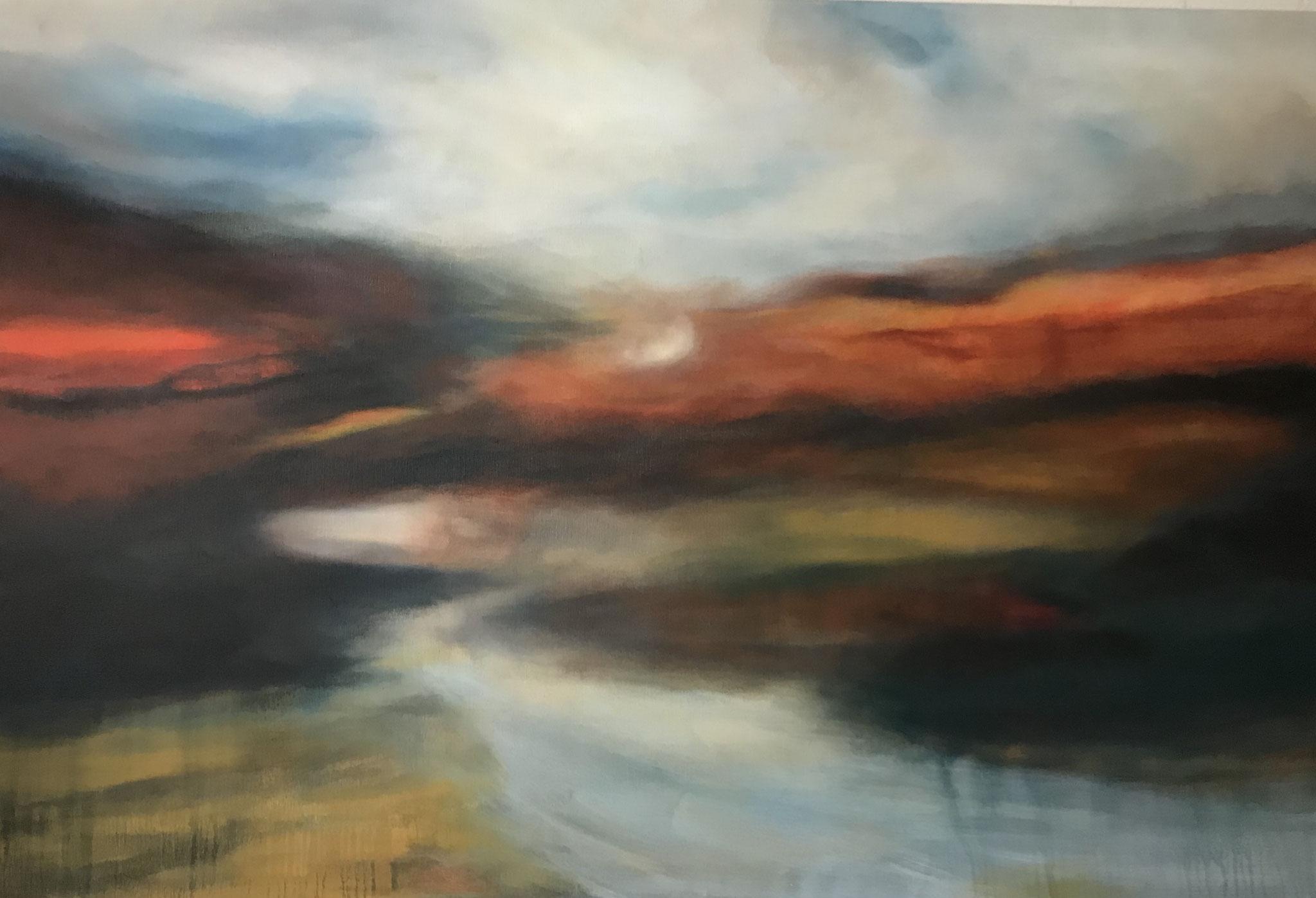 Il mio paesaggio I 120 x 180 x 2 cm