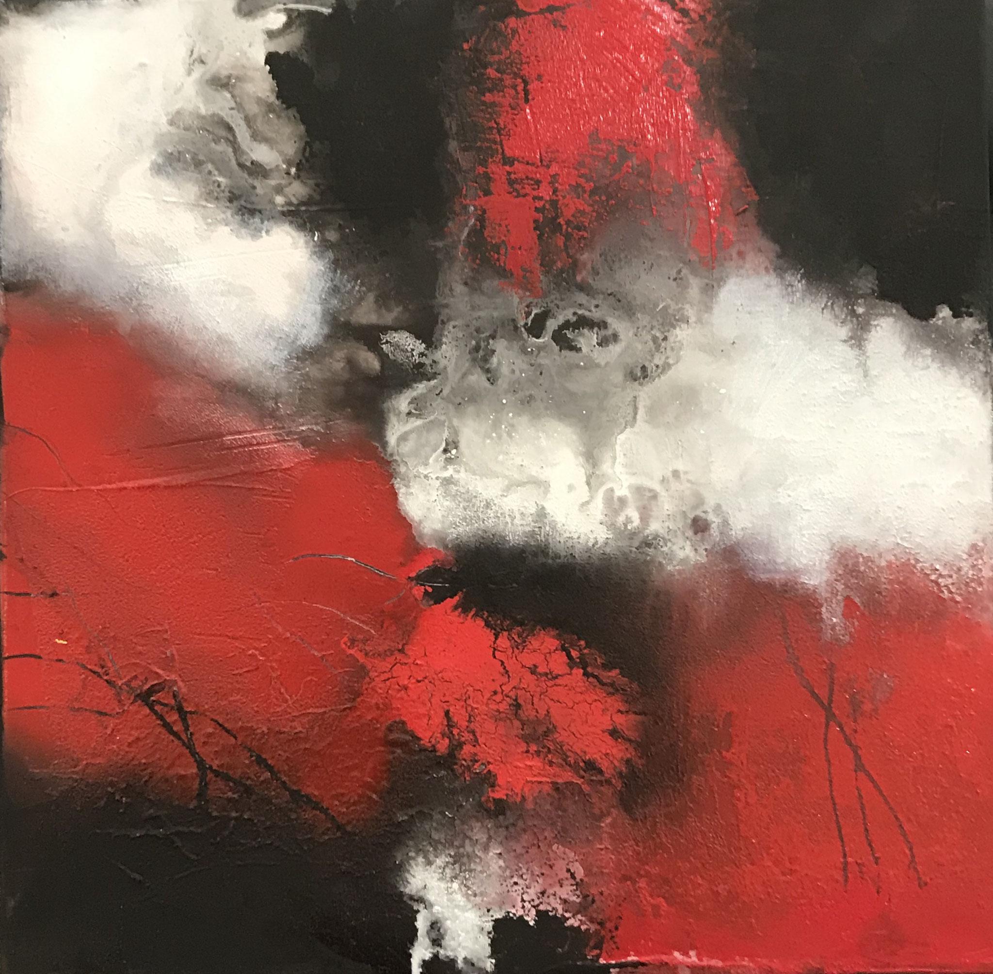 Passione XII 40 x 40 x 2 cm