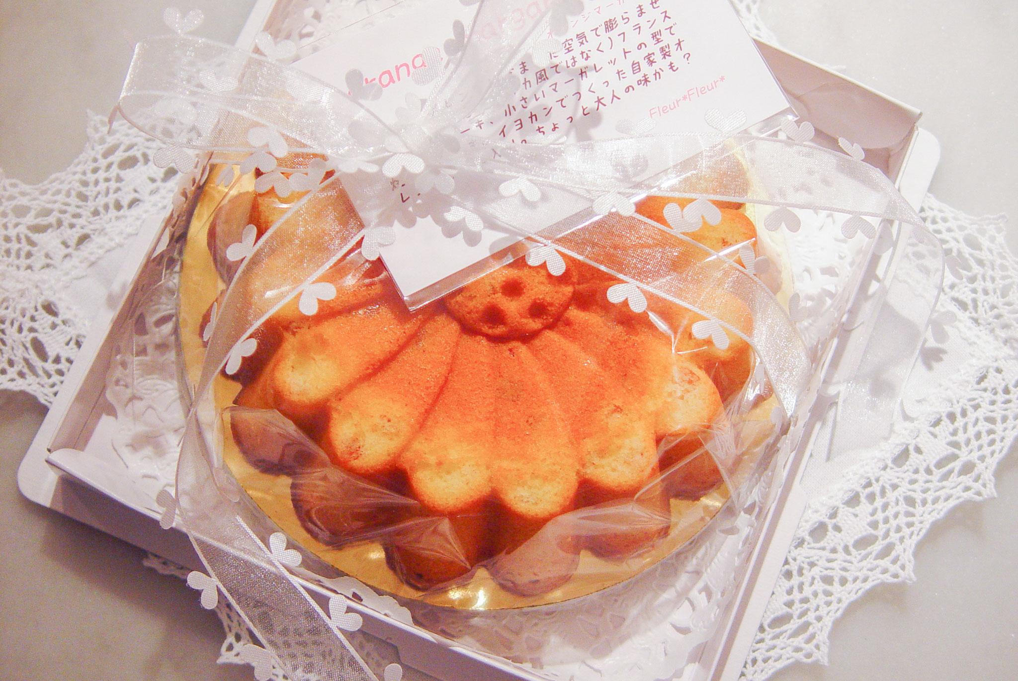 gateau aux oranges  オレンジマーガレット