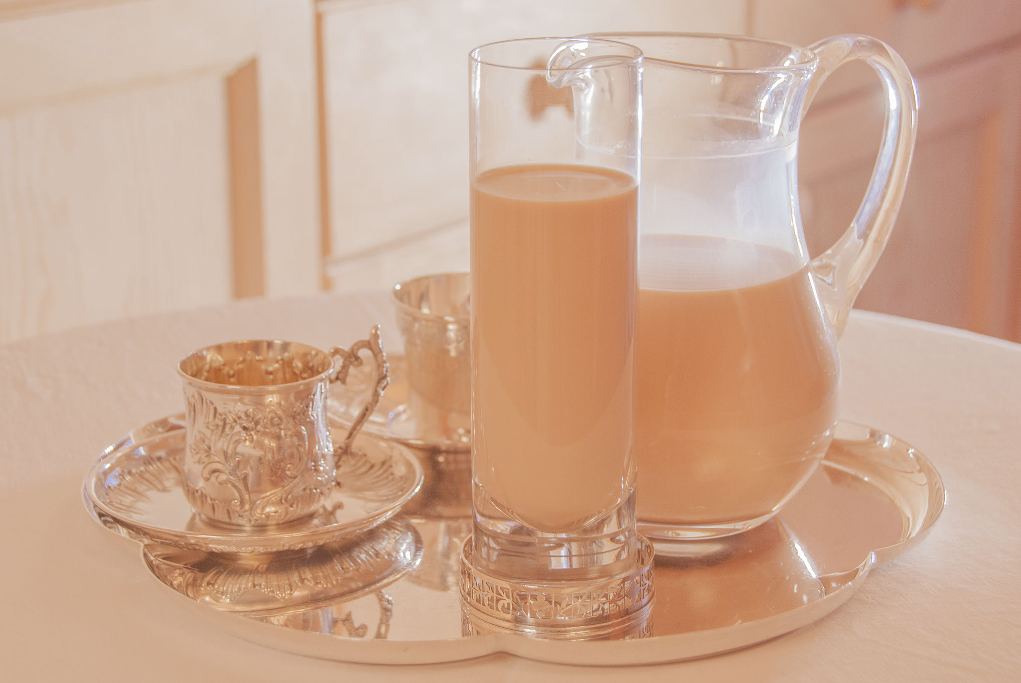 Royal Milk Tea, Afforgato with Royal Milk Tea, Fleur*Fleur*