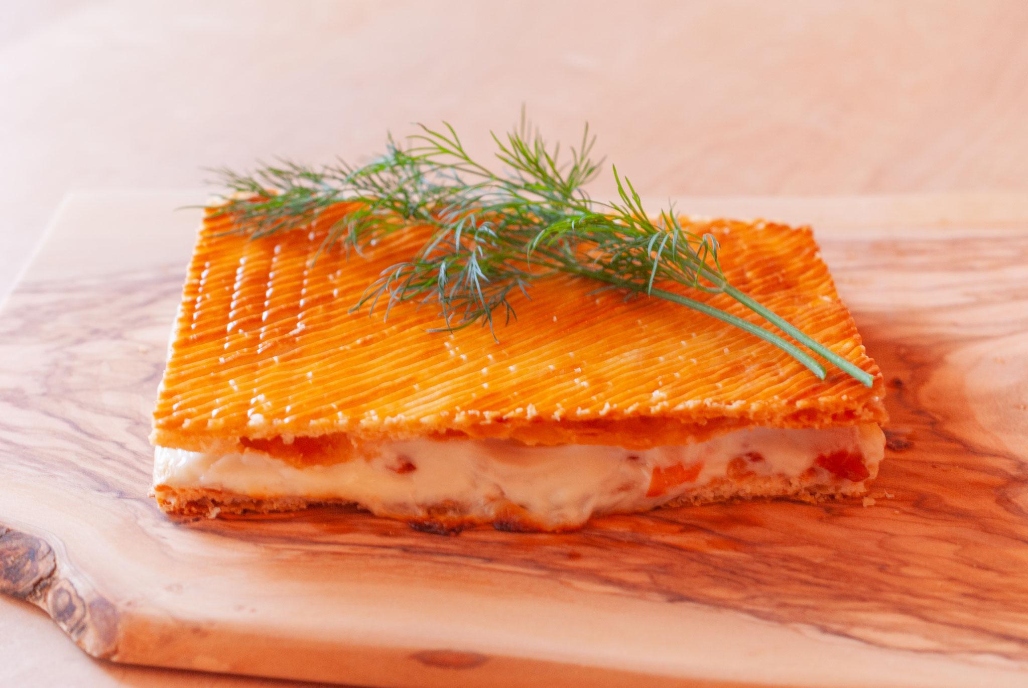 "Smoked salmon Pie (""Feuilletage"" as always), Fleur*Fleur*, fleurfleur"