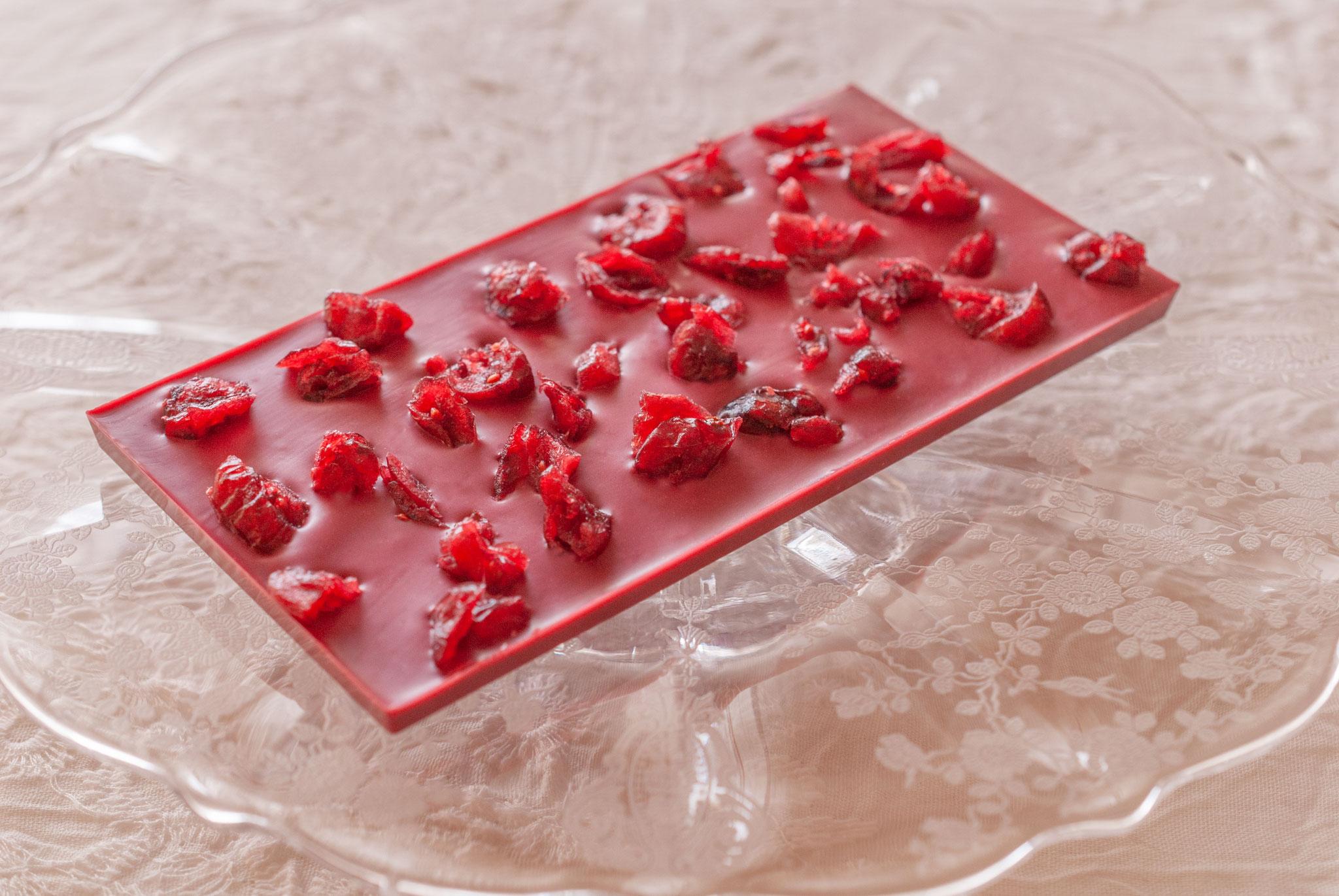 Inspiration - Framboise +Organic Dried Cranberry, Fleur*Fleur*