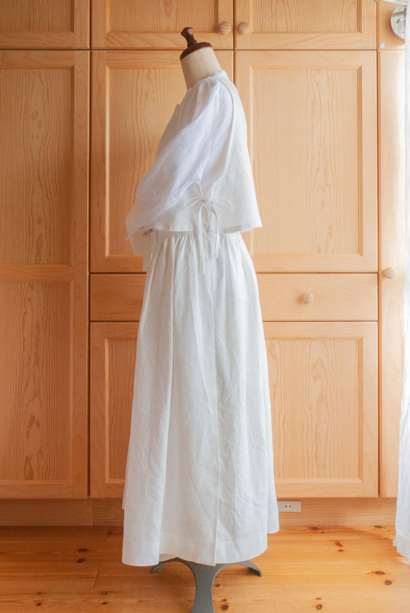 apron dress set A (#004 + #008) for sweets, Fleur*Fleur*