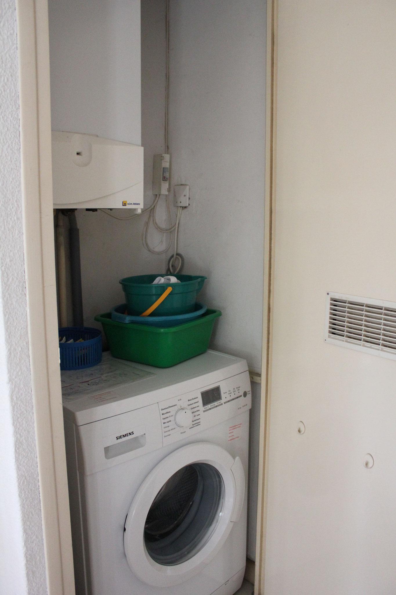 chaudière - lave linge