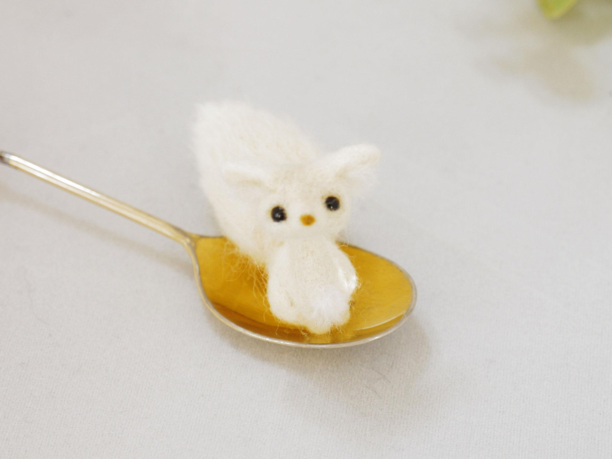 豆狐おすわりバージョン