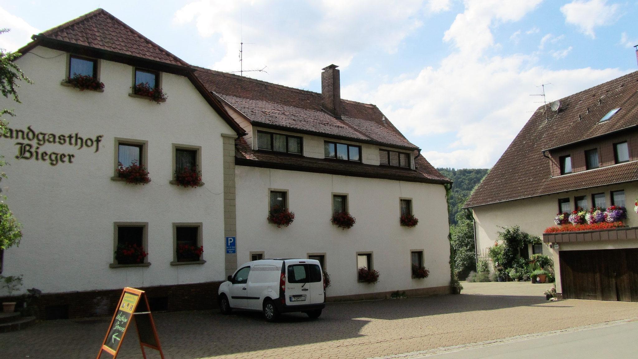 Der Landgasthof Bieger in Rothenbühl heute.