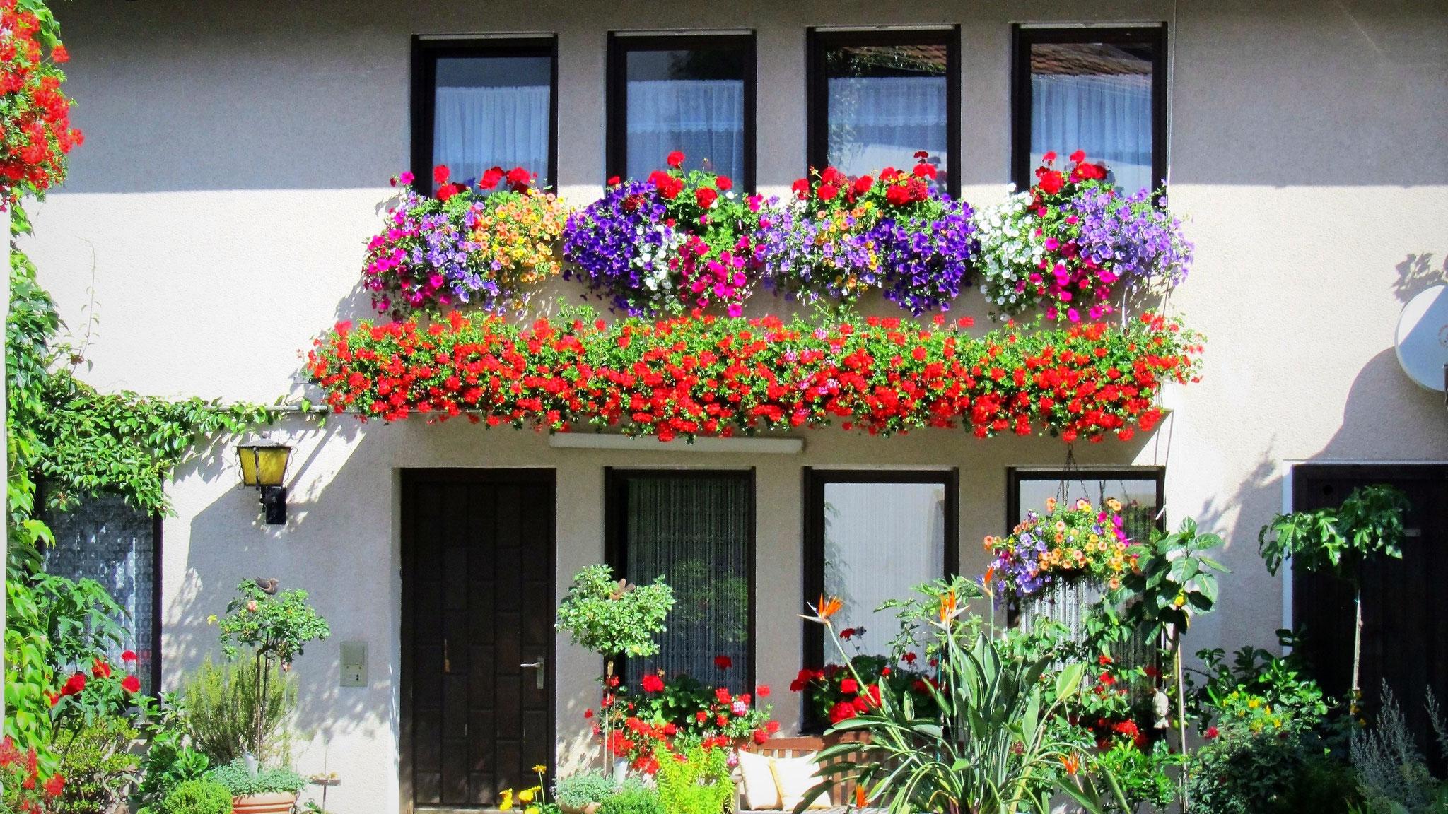 Das Gästehaus vom Landgasthof Bieger in der Fränkischen Schweiz, 2 km von Ebermannstadt.