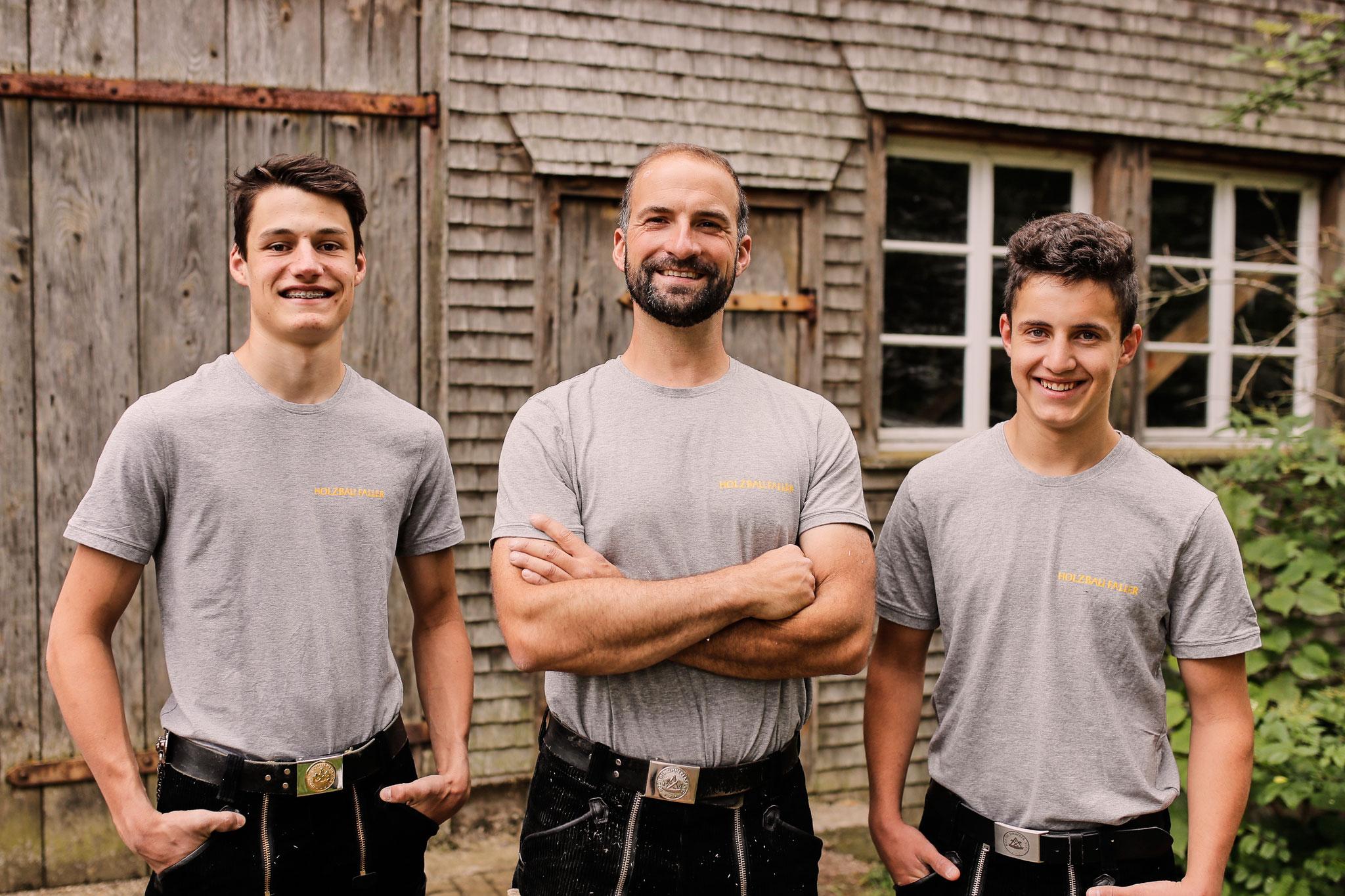 Ihr Holzbau Faller - Team