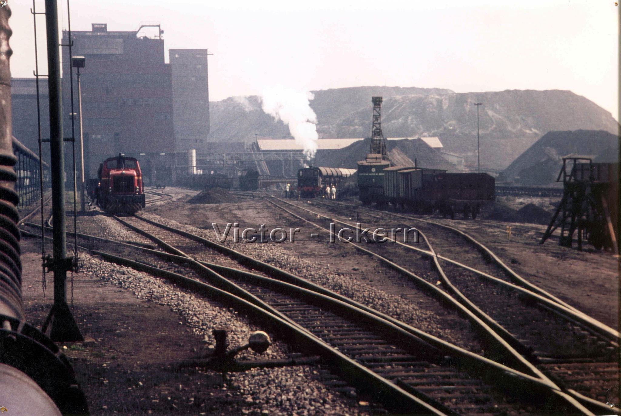 Gleisanlage Ickern I/II   1965
