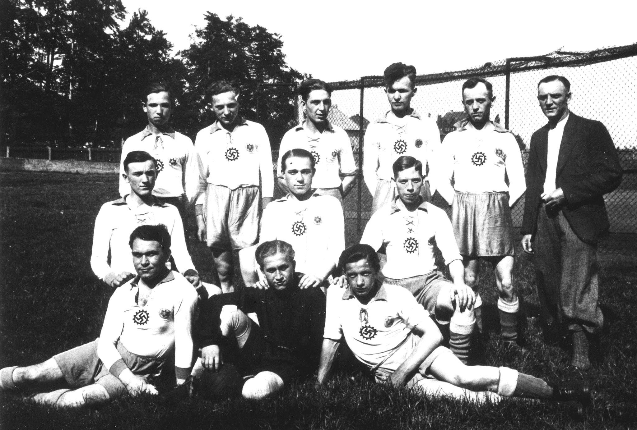 Fussballmannschaft Victor-Ickern