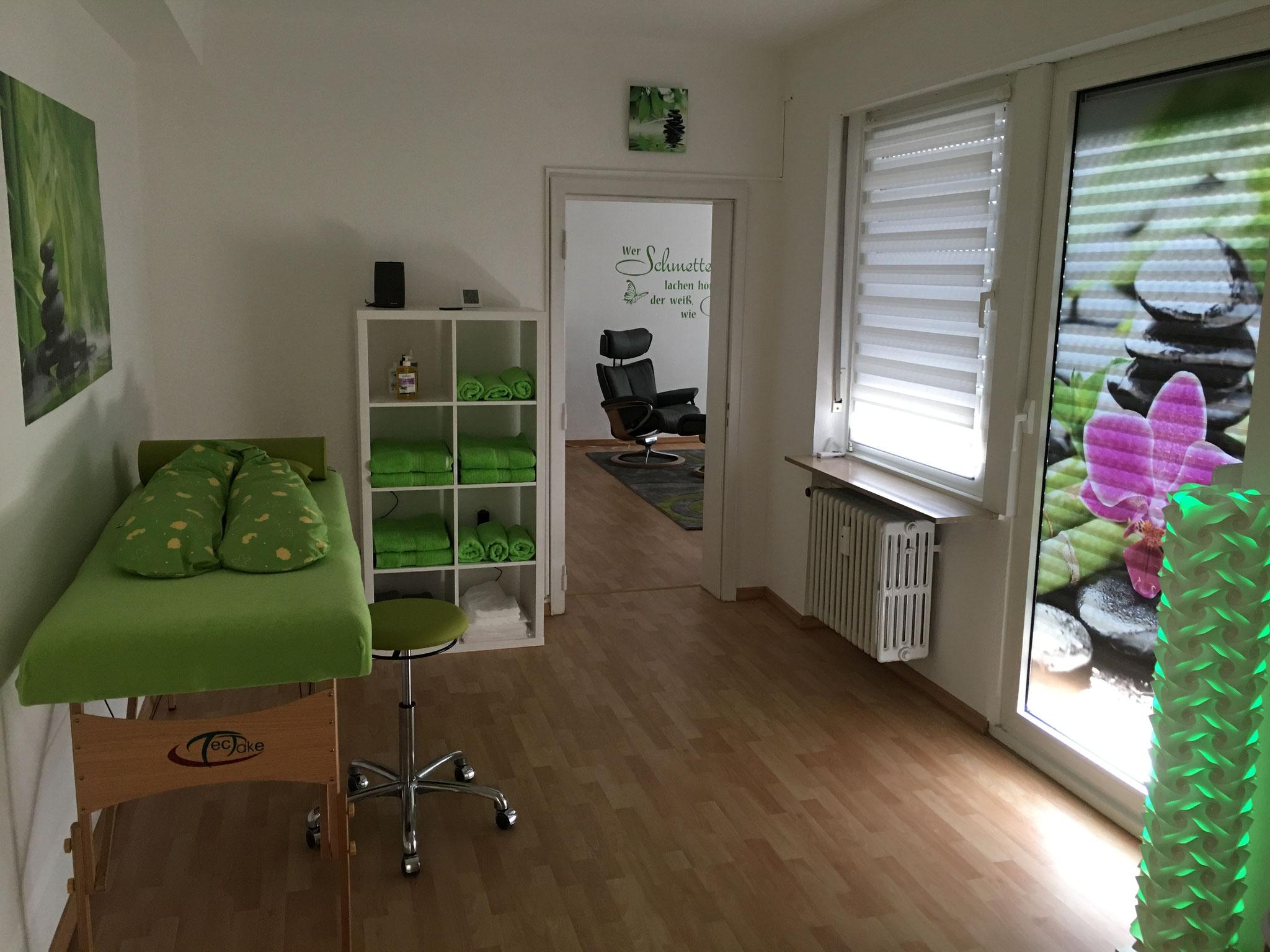 Wellness-Bereich: Ruheort für die Energetische Quanten-Wellness-Massage