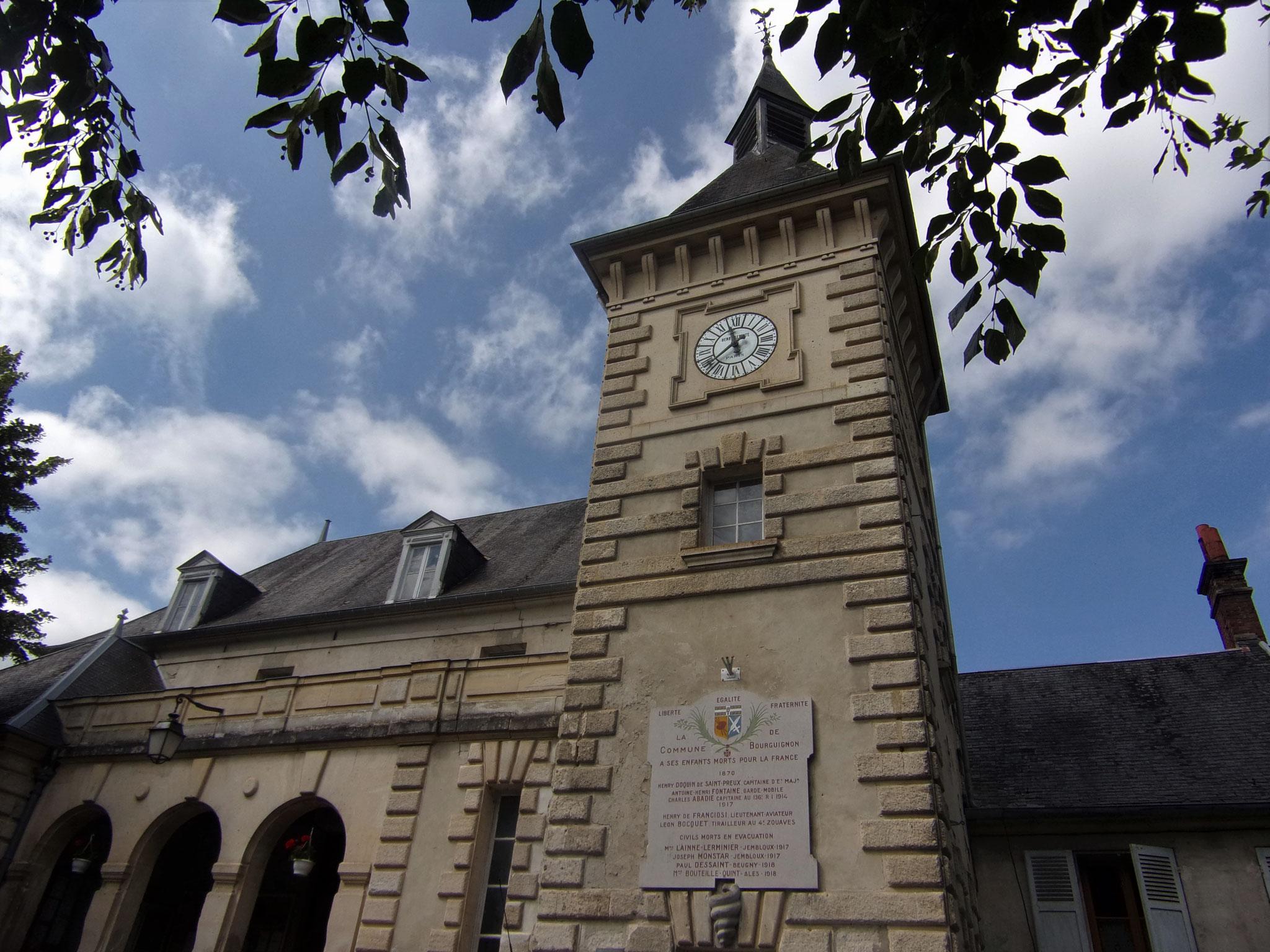 Mairie de Bourguignon-sous-Montbavin