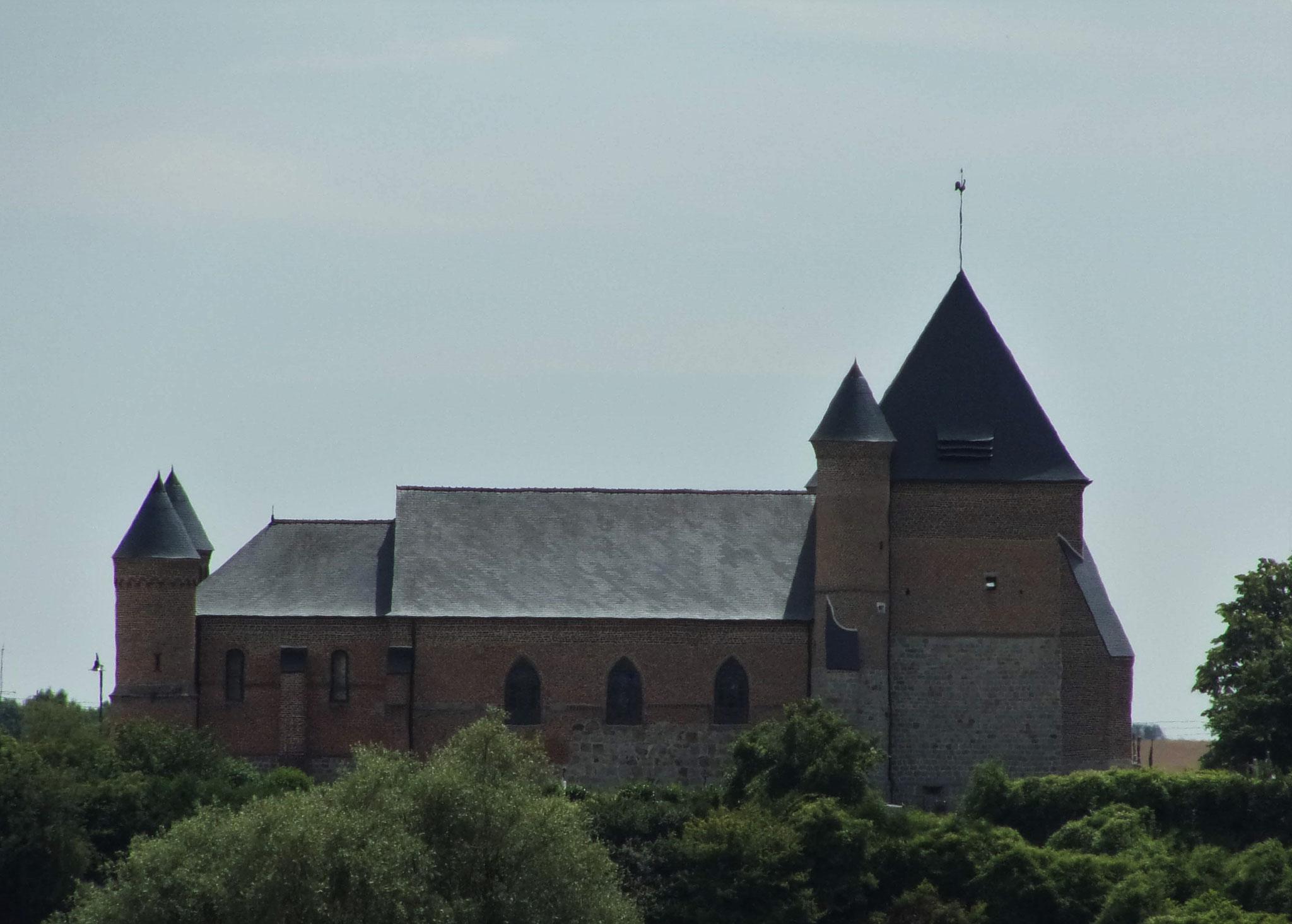 Eglise de Flavigny-le-Grand-et-Beaurain