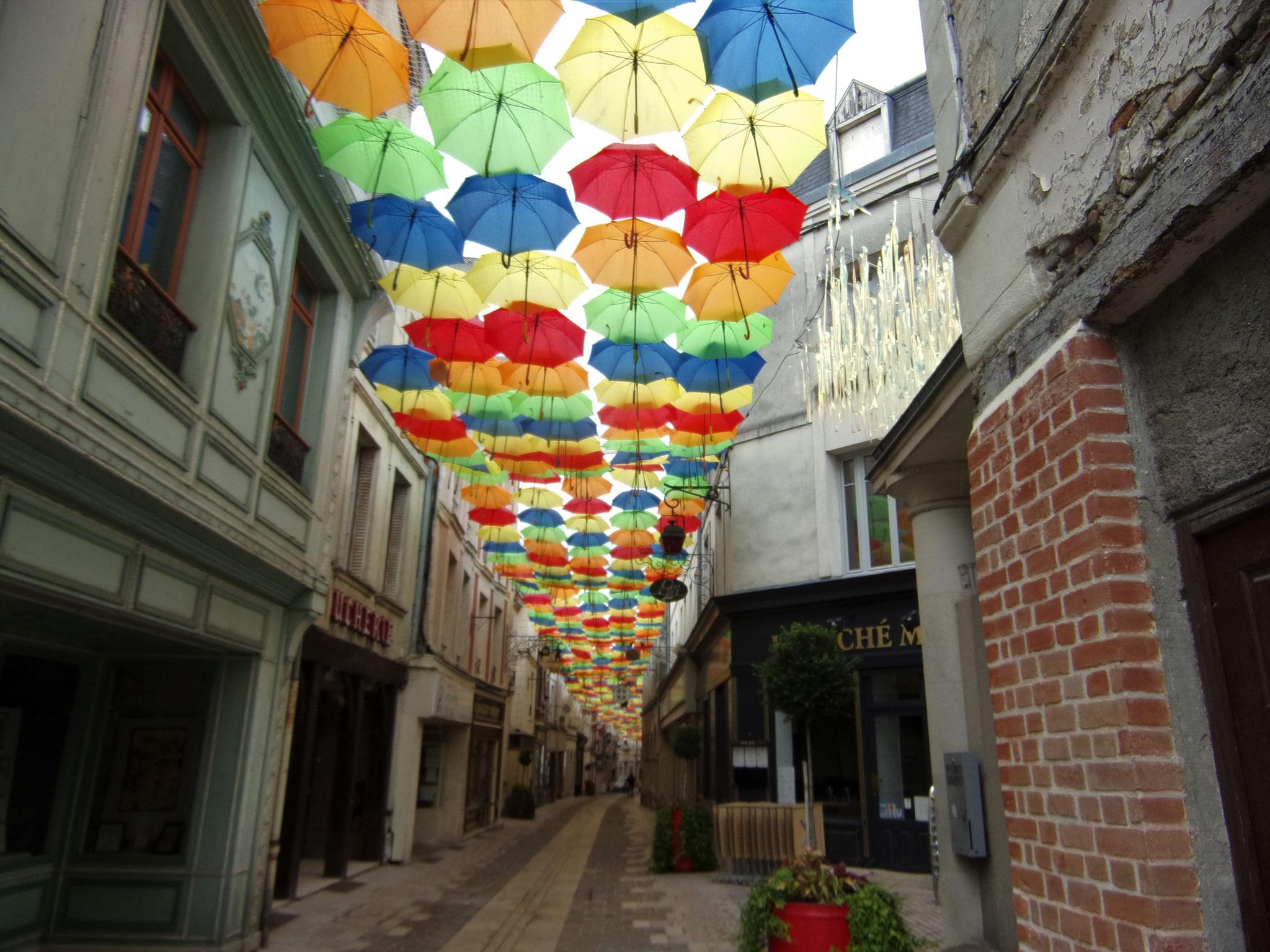 Rue Châtelaine à Laon