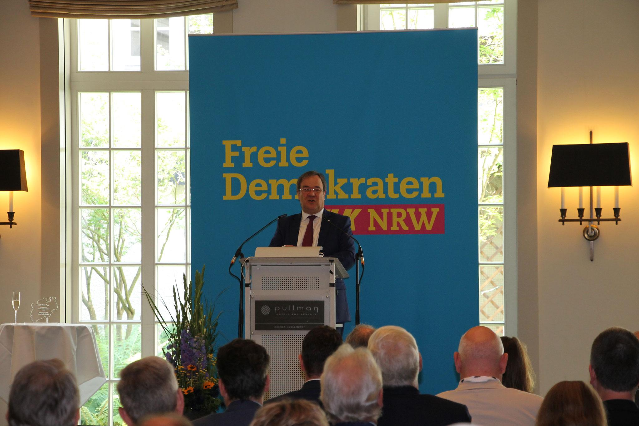 NRW Ministerpräsident Armin Laschet