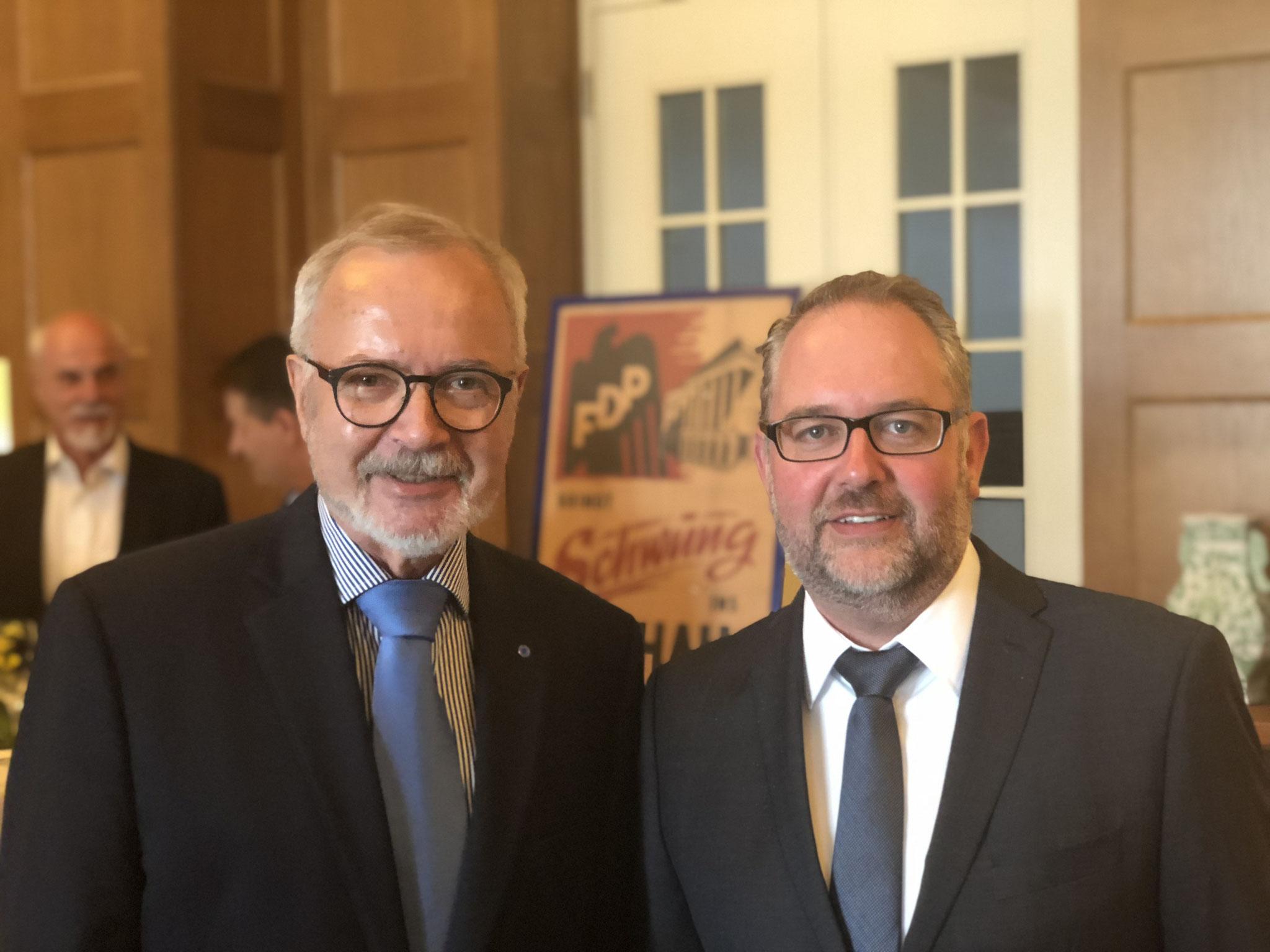 Dr. Werner Hoyer, Joachim vom Berg