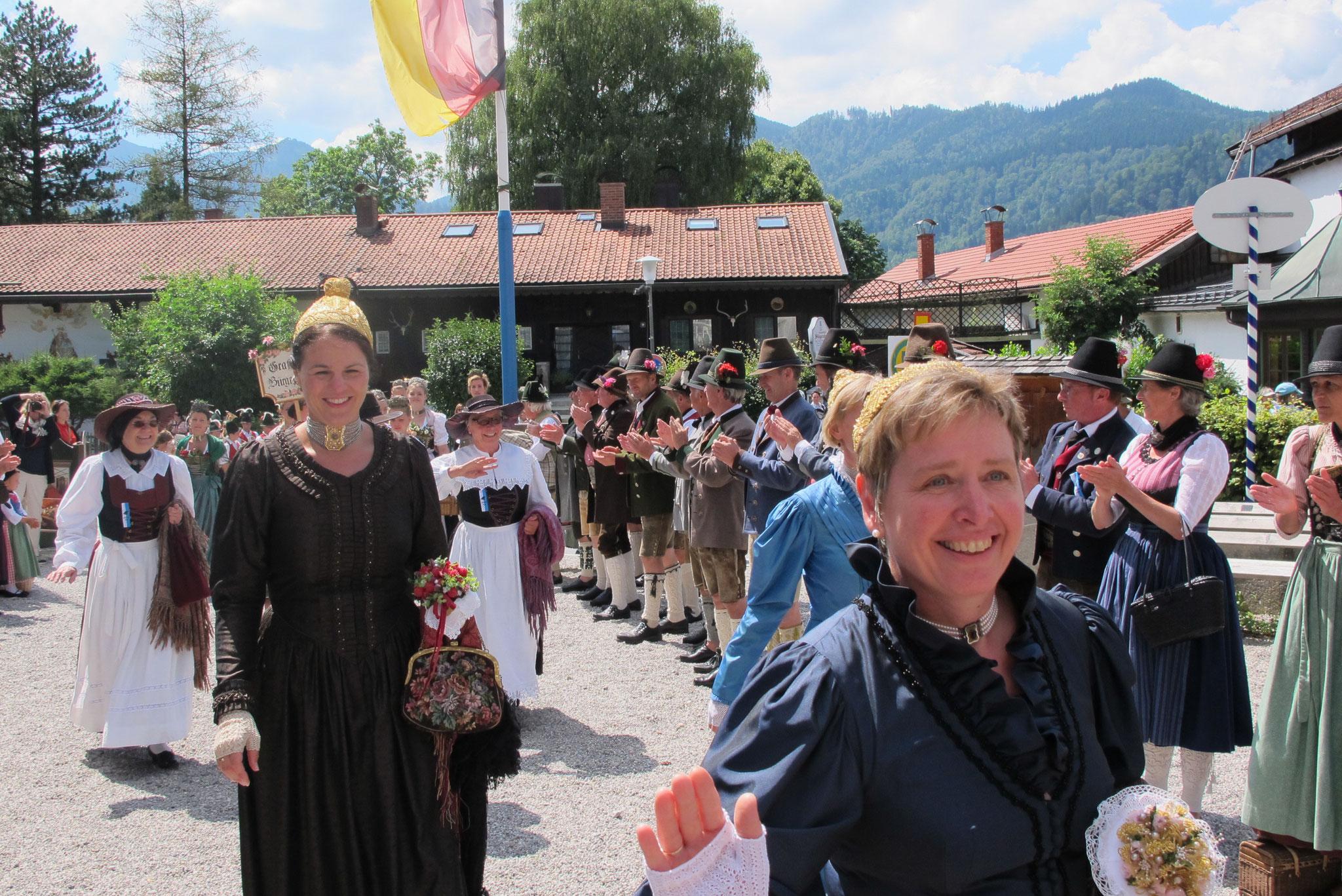 Die Passauerinnen, das 1. Mal in Schliersee