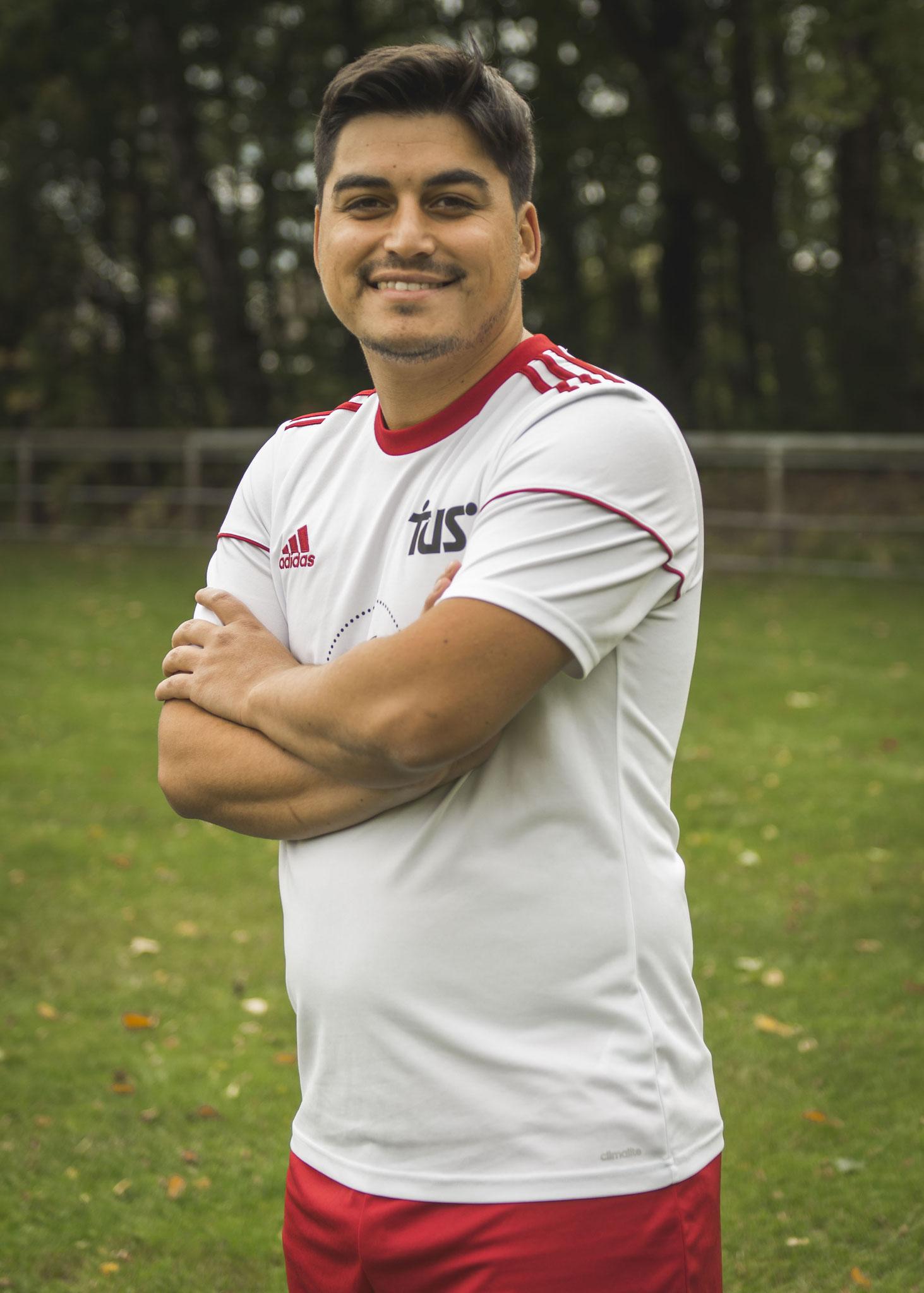 Unsere Nr. 19, Kemal Budev, seit 2018 im Team