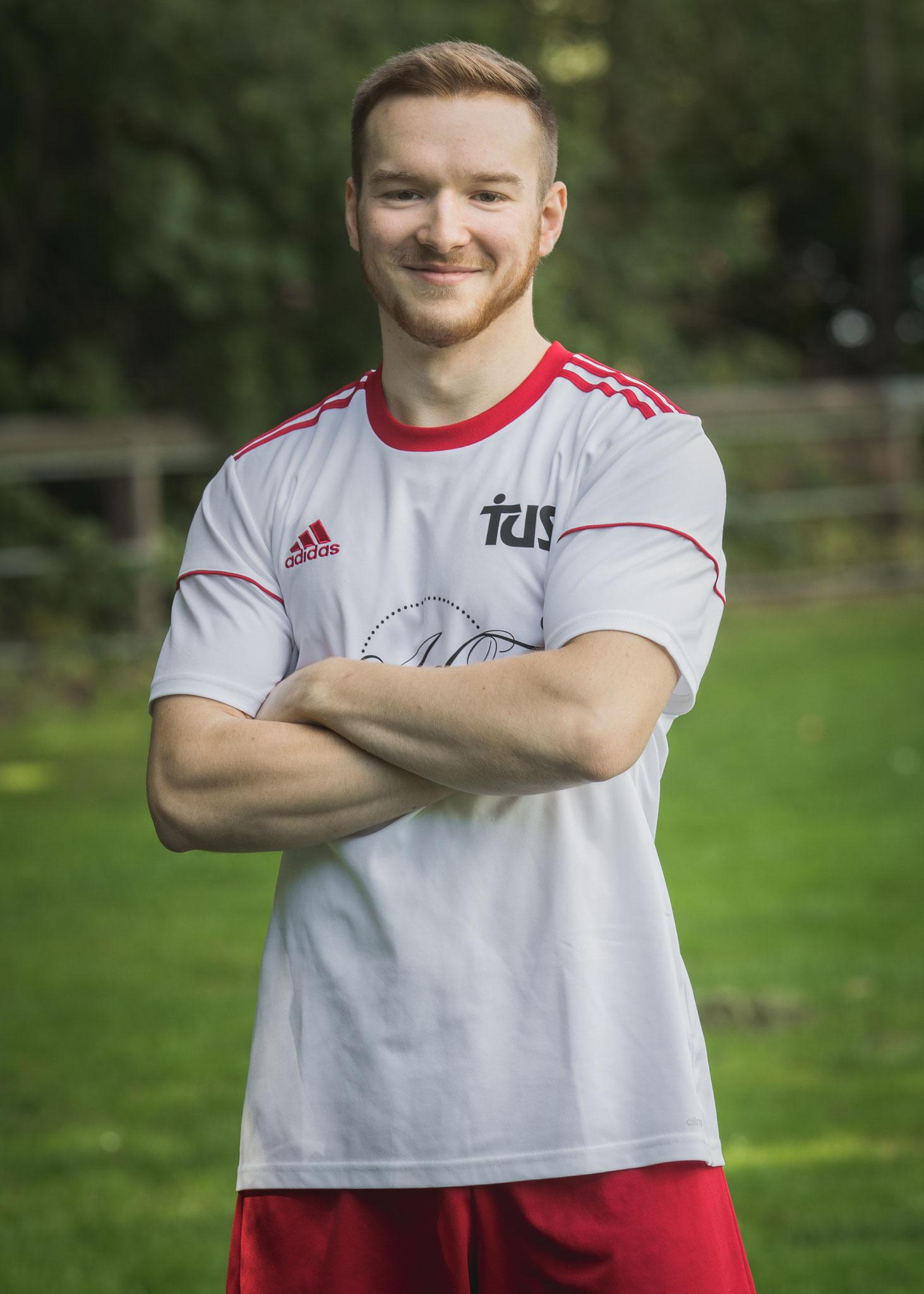 Unsere Nr. 3, Jonas Klein, Außenverteidiger und Sprinter