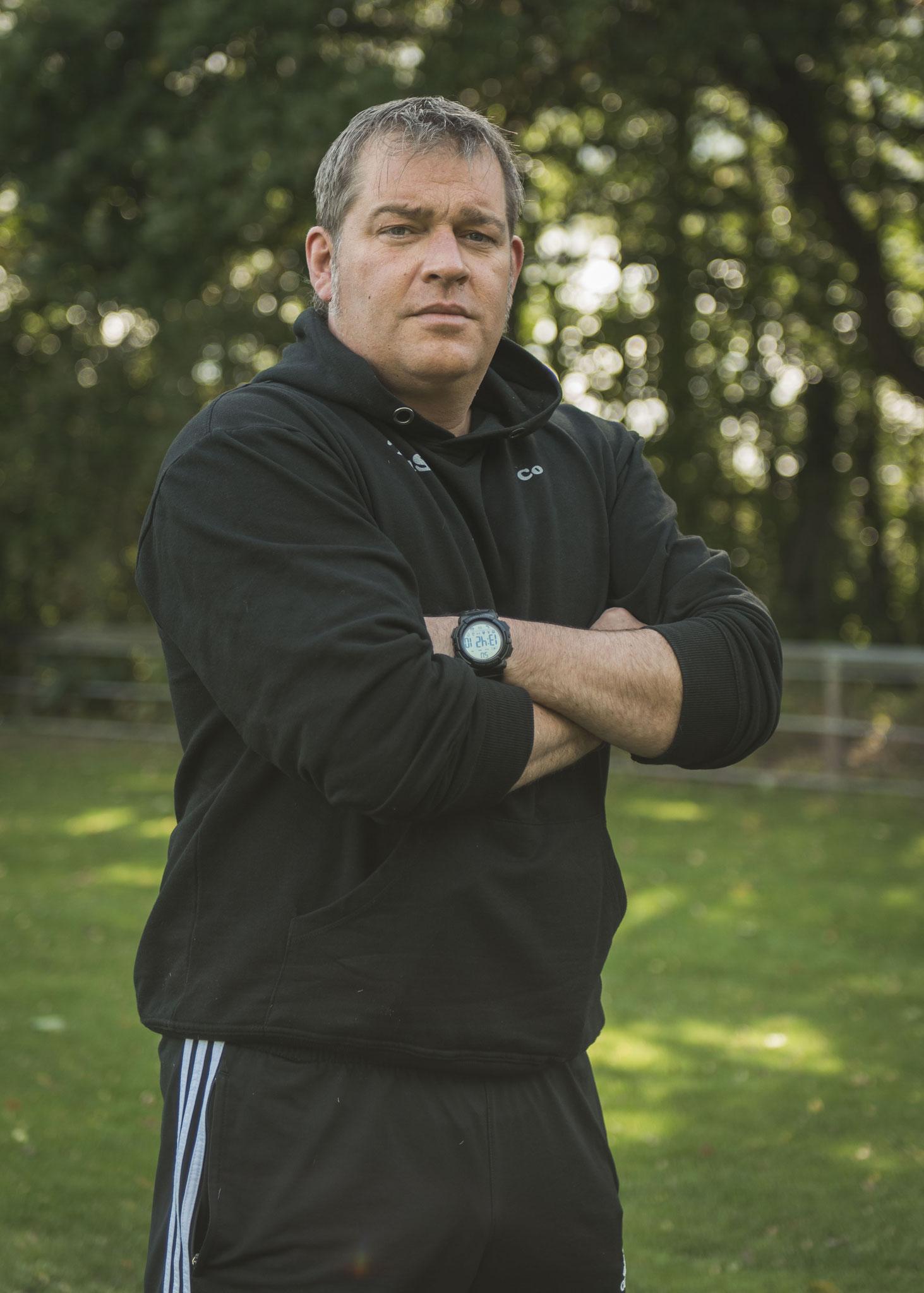 Ingo Wilkens, Co-Trainer und Motivator, manchmal ein wenig ohne Geduld