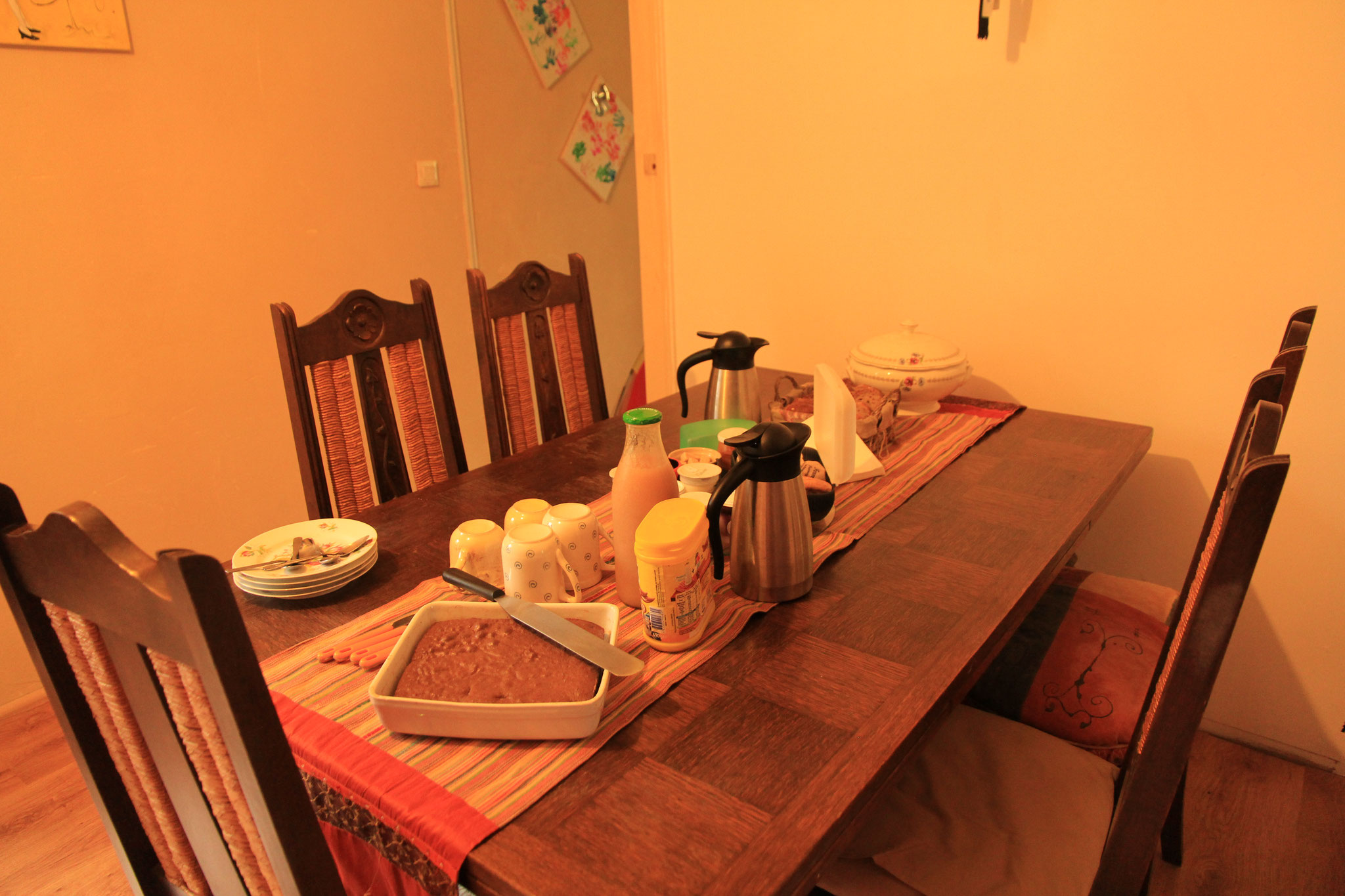 table petit déjeucner