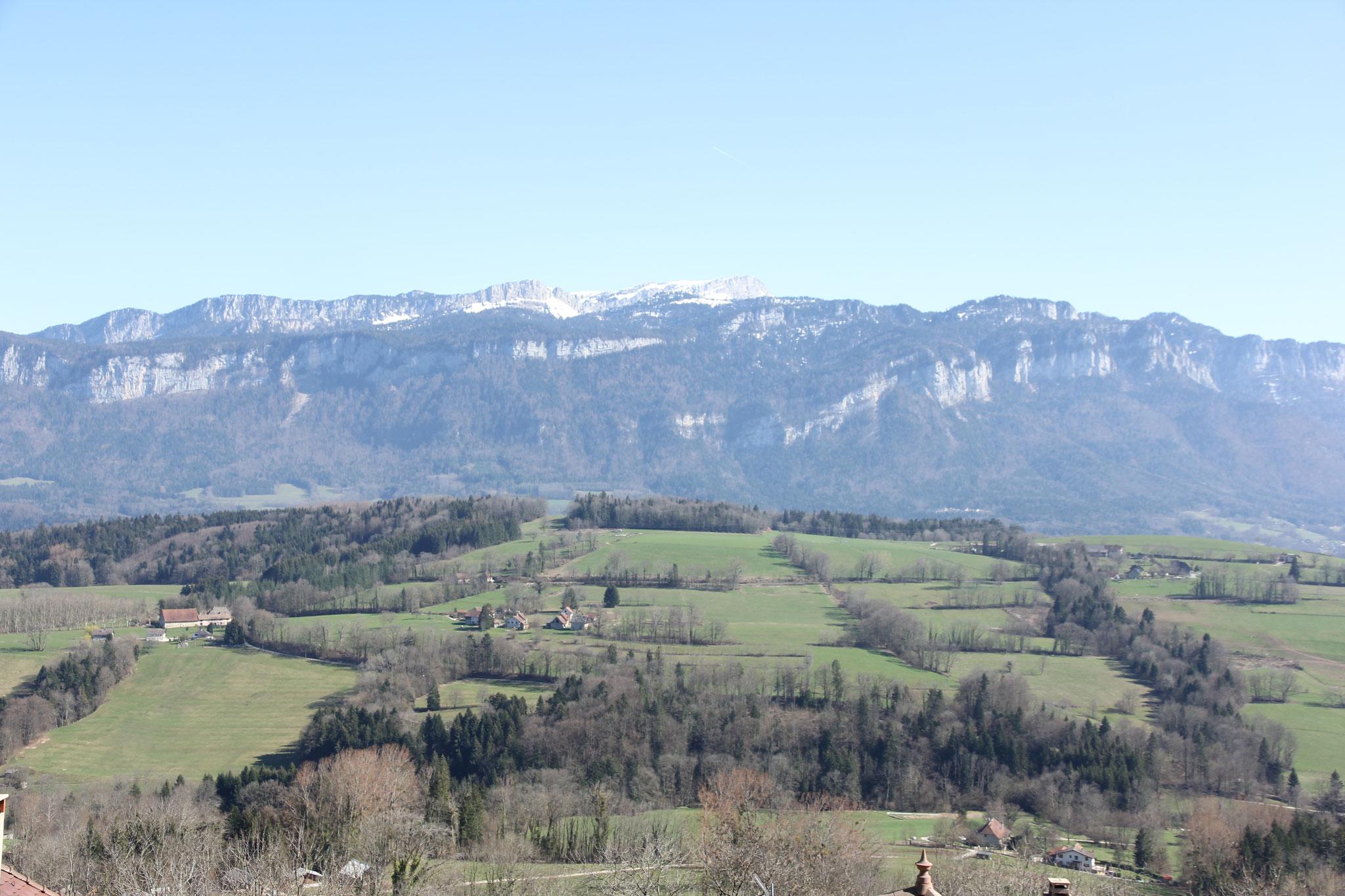 vue sur le plateau de St Laurent du Pont, Entre2Guiers, Les Échelles...