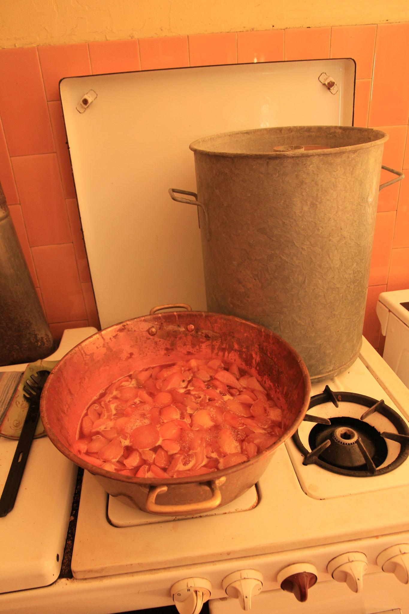 préparation conserve et confiture poire